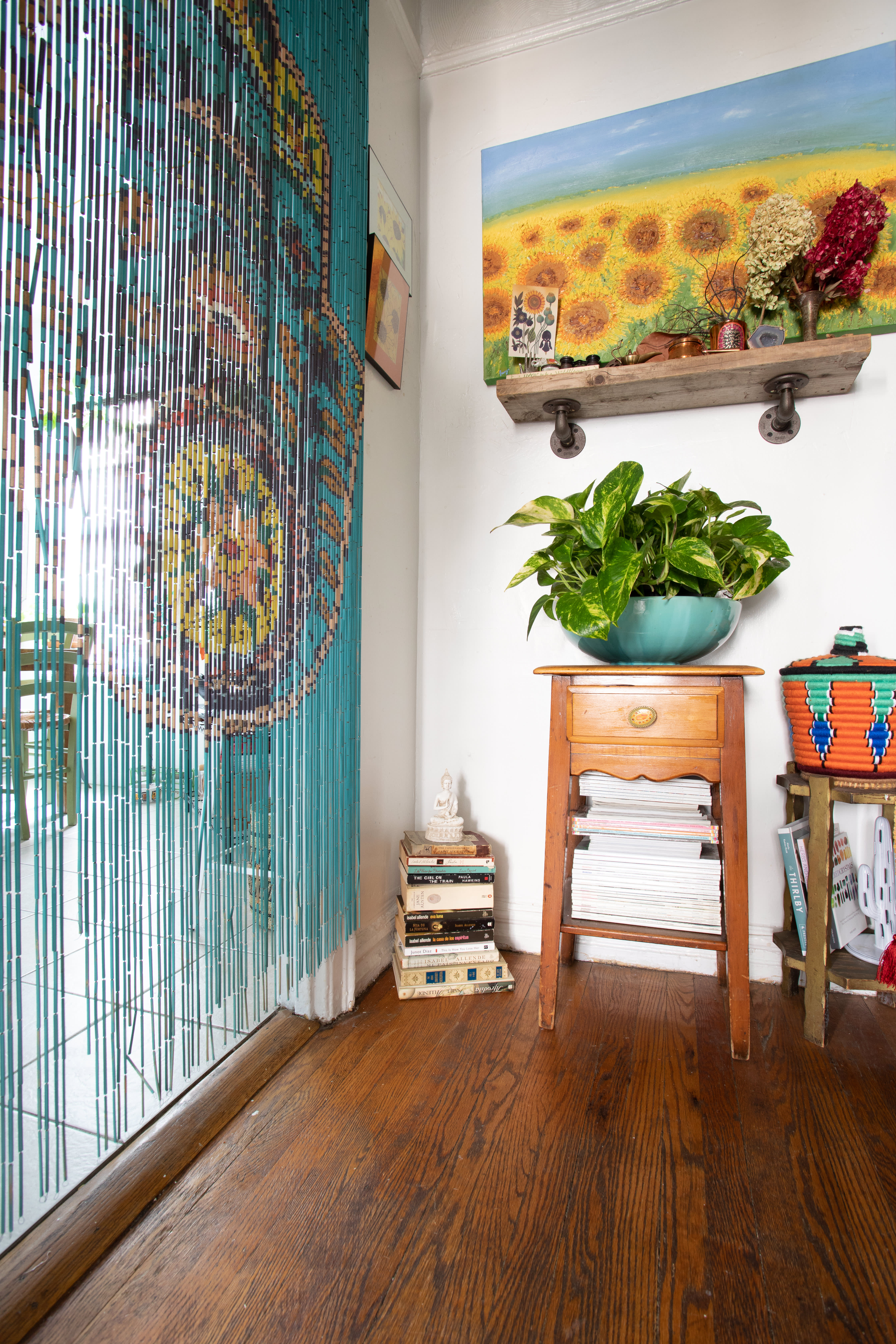 Maximalist Bohemian Eclectic Plant-Filled Home Photos ...