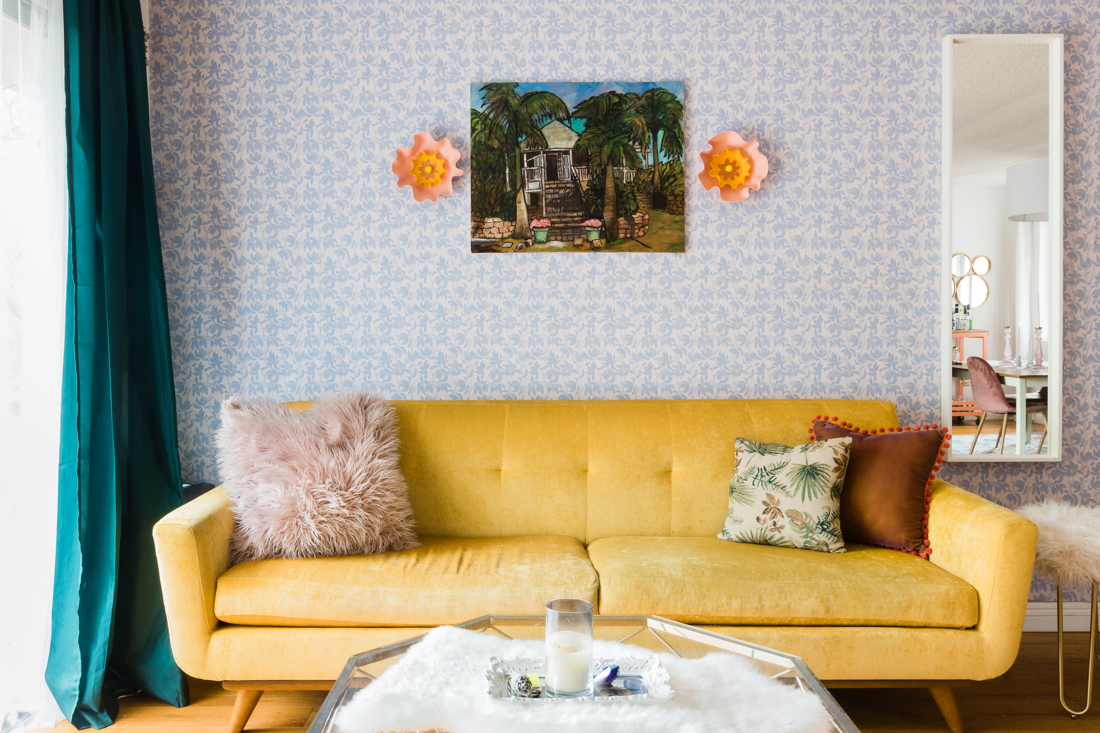 Color Inspiration 8 Beautiful Yellow Sofas Apartment Therapy