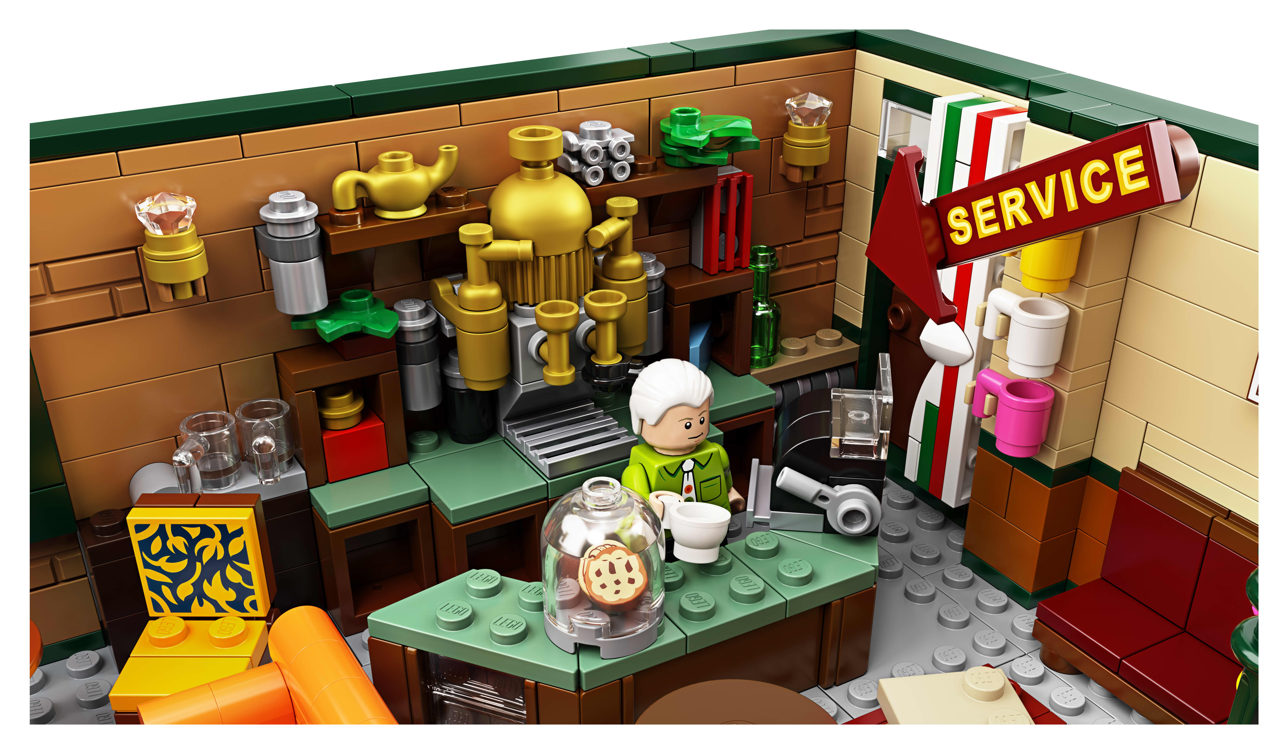 Friends Central Perk LEGO Set | Apartment Therapy