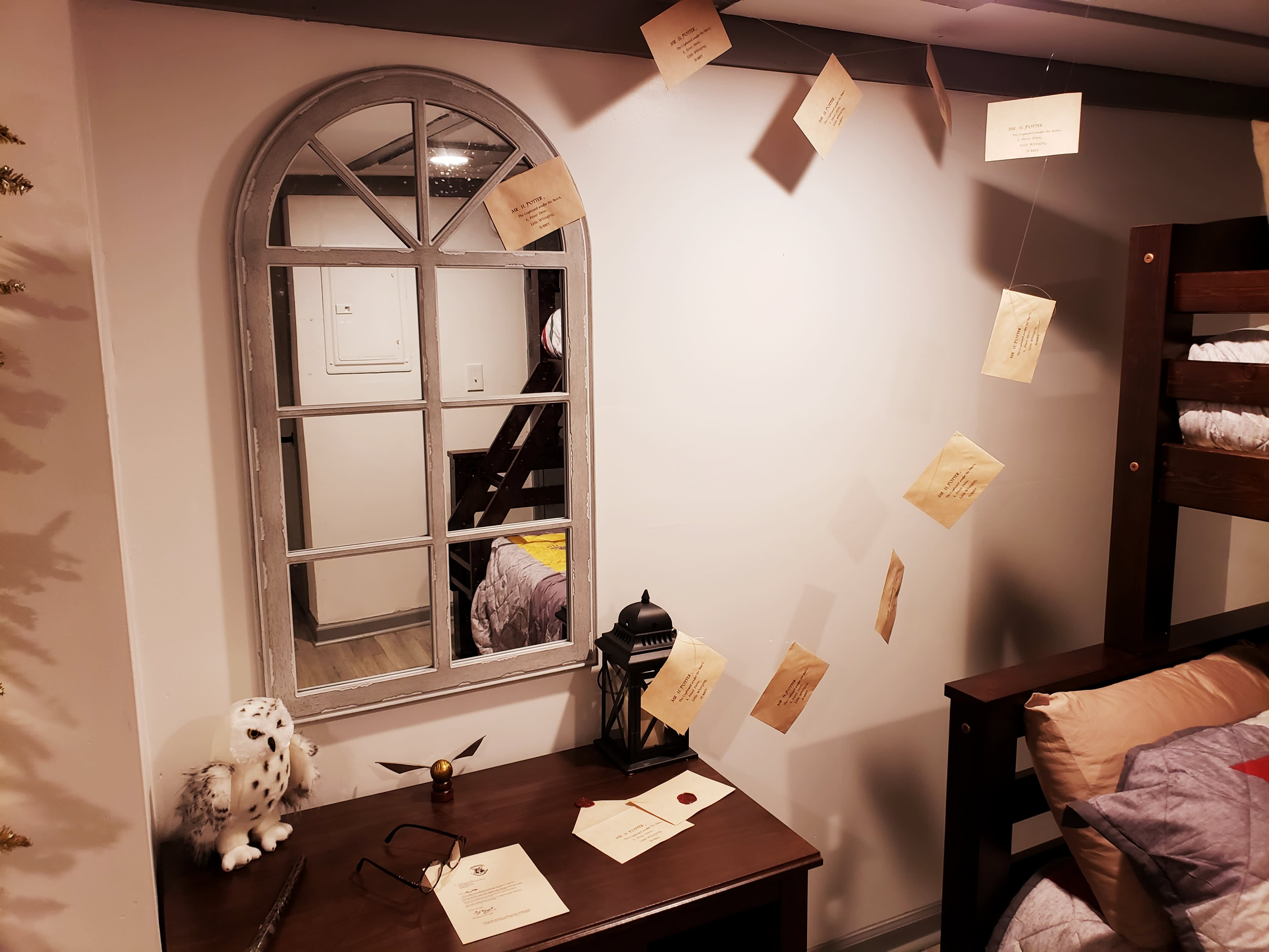 Harry Potter Airbnb Rental Atlanta Apartment Therapy