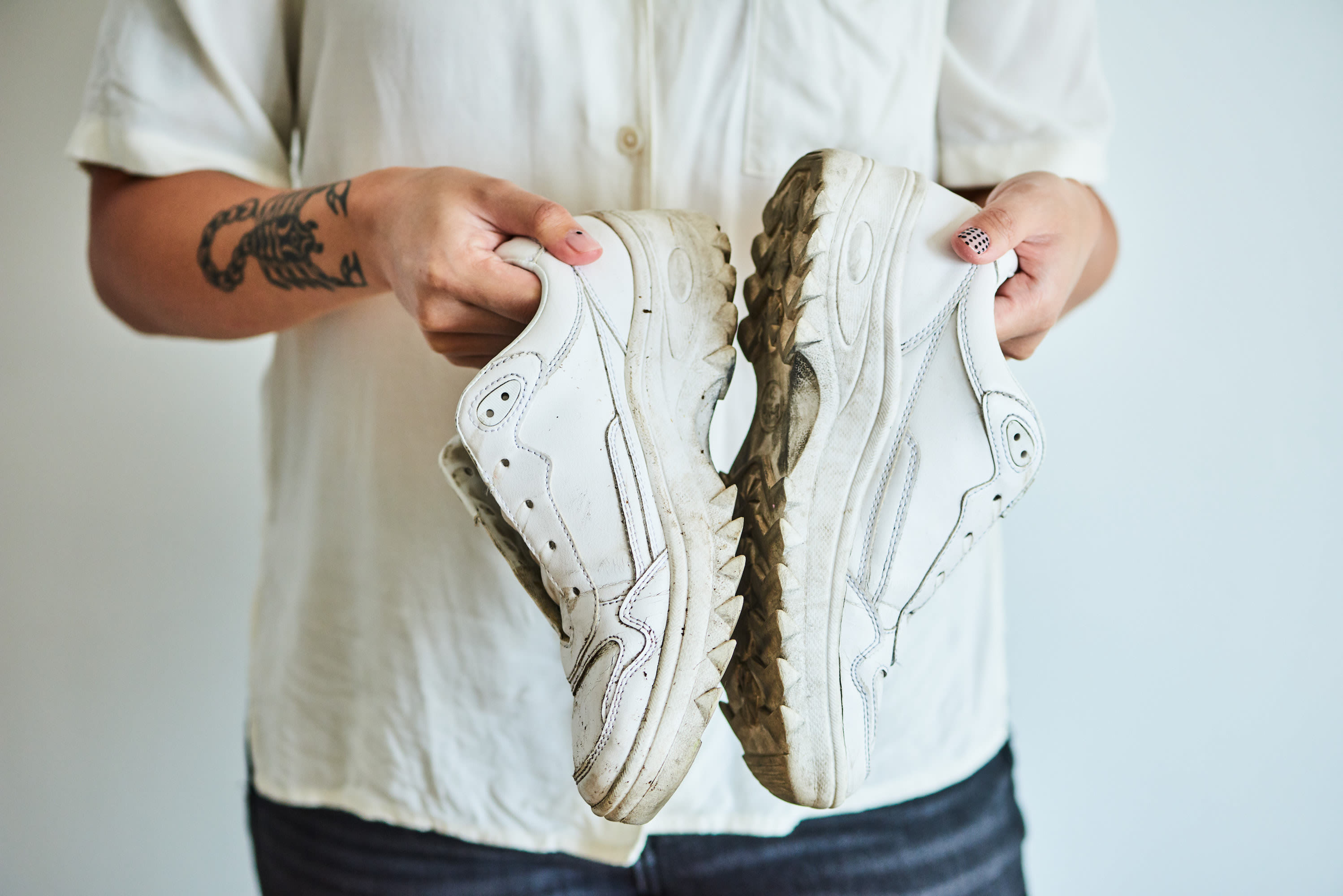 How to Clean White Shoes | Apartment Therapy