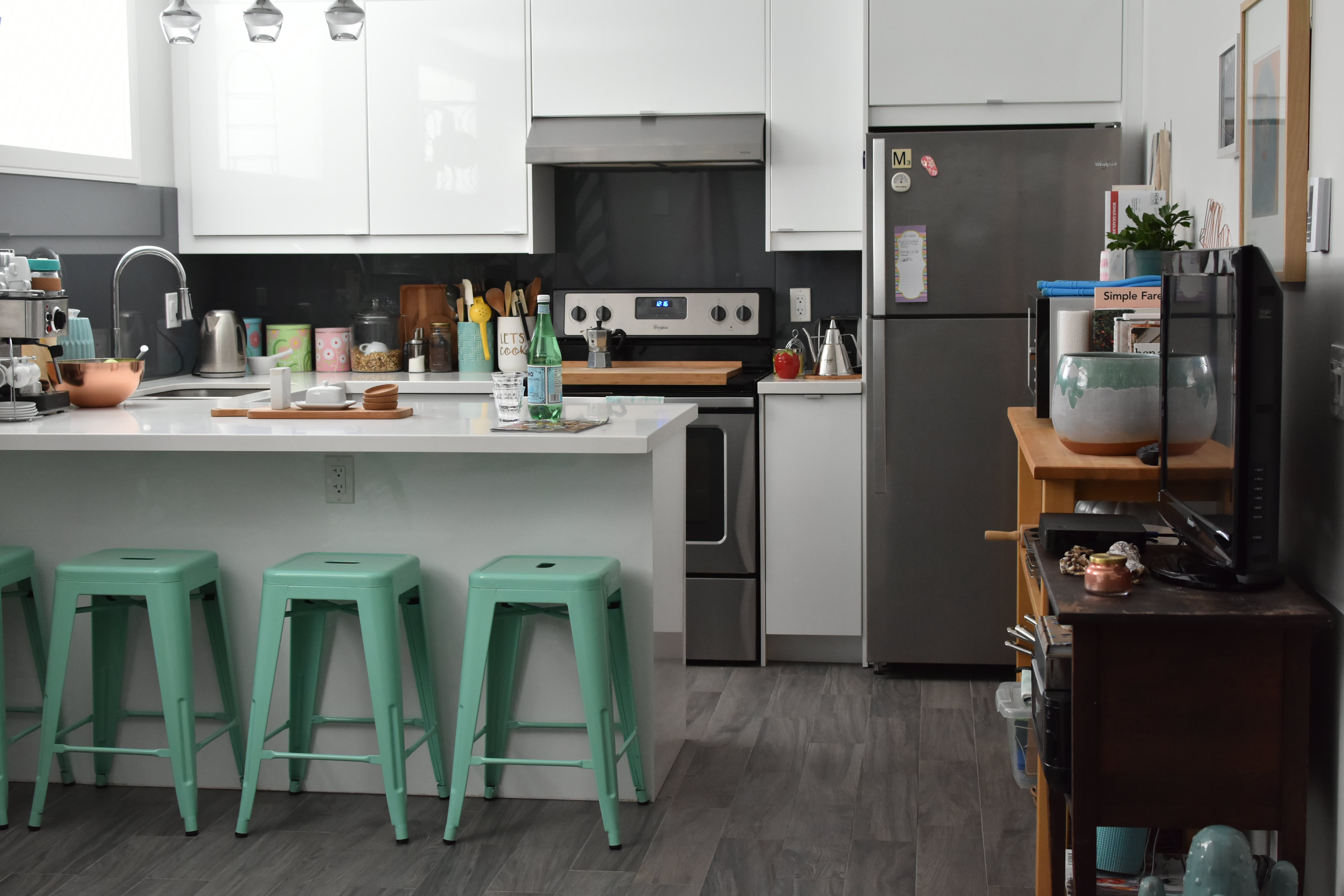 It's Hard to Believe This Cheery, Small Rental Apartment Is In a Basement