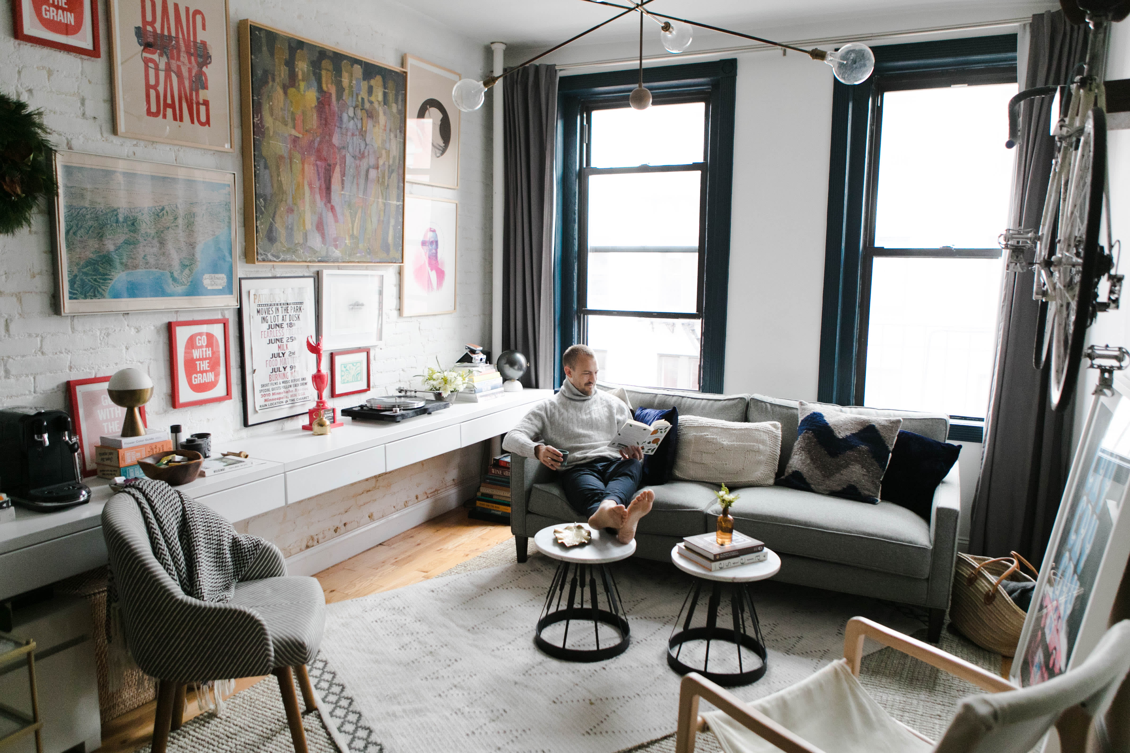 This Instagrammer's 500-Square-Foot Apartment Has All Kinds of Smart Small Space Ideas