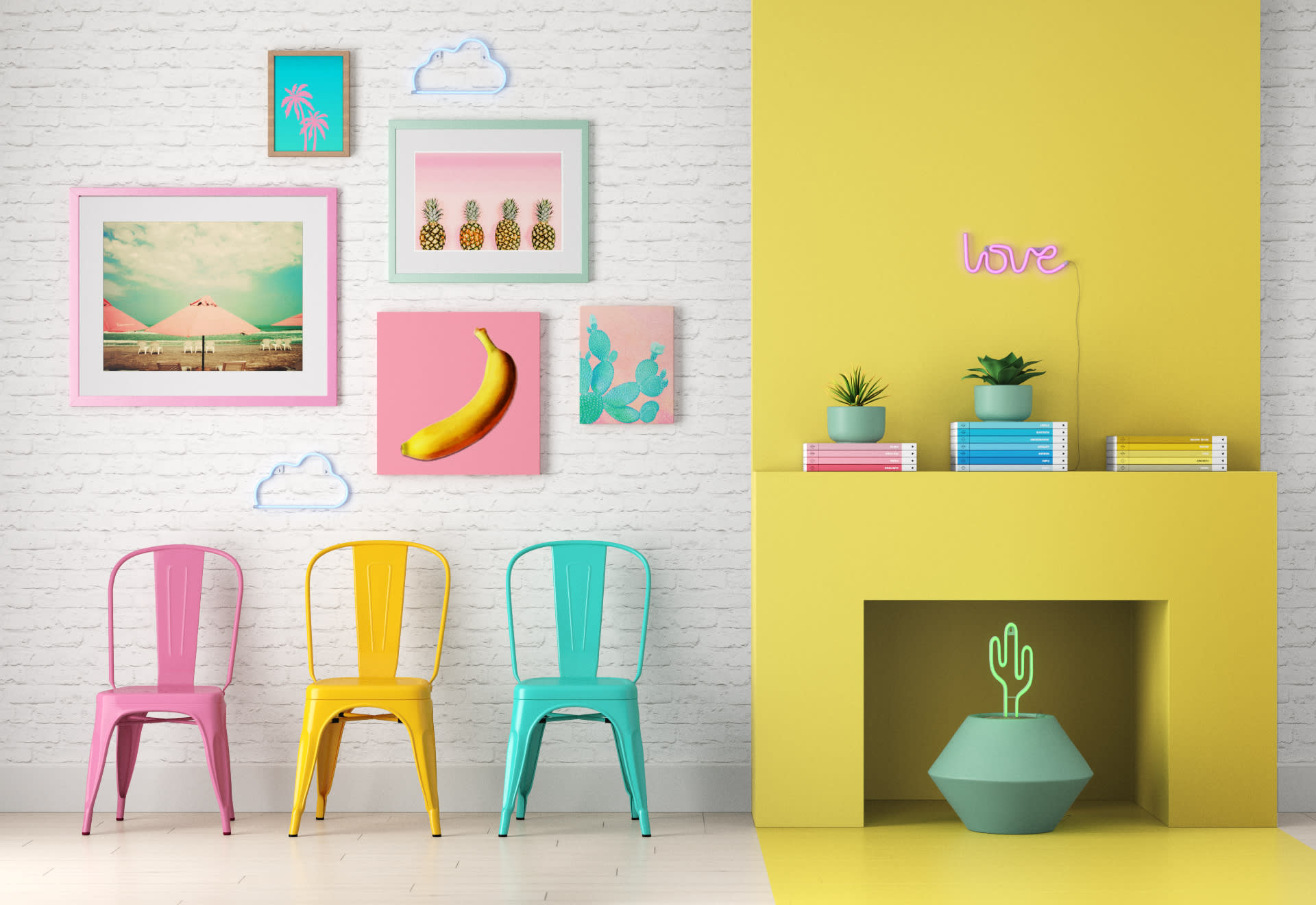 Wayfair's New Collection Has Tons of Colorful Living Room Finds Under $150