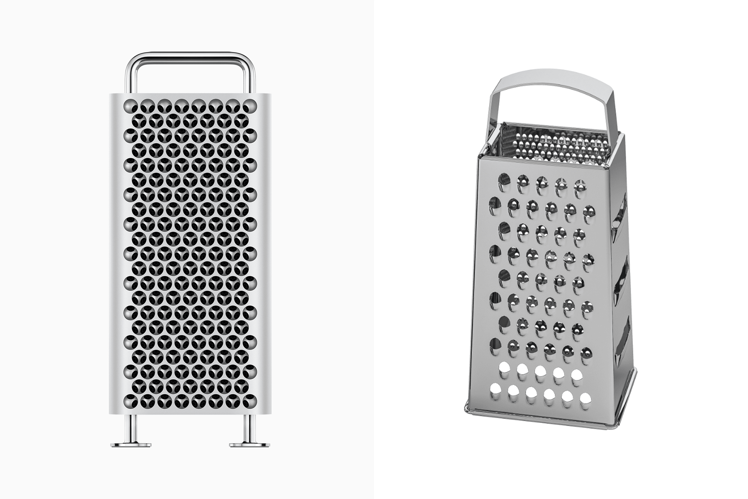 Apple's New Mac Looks Like a Cheese Grater and IKEA's Got Jokes