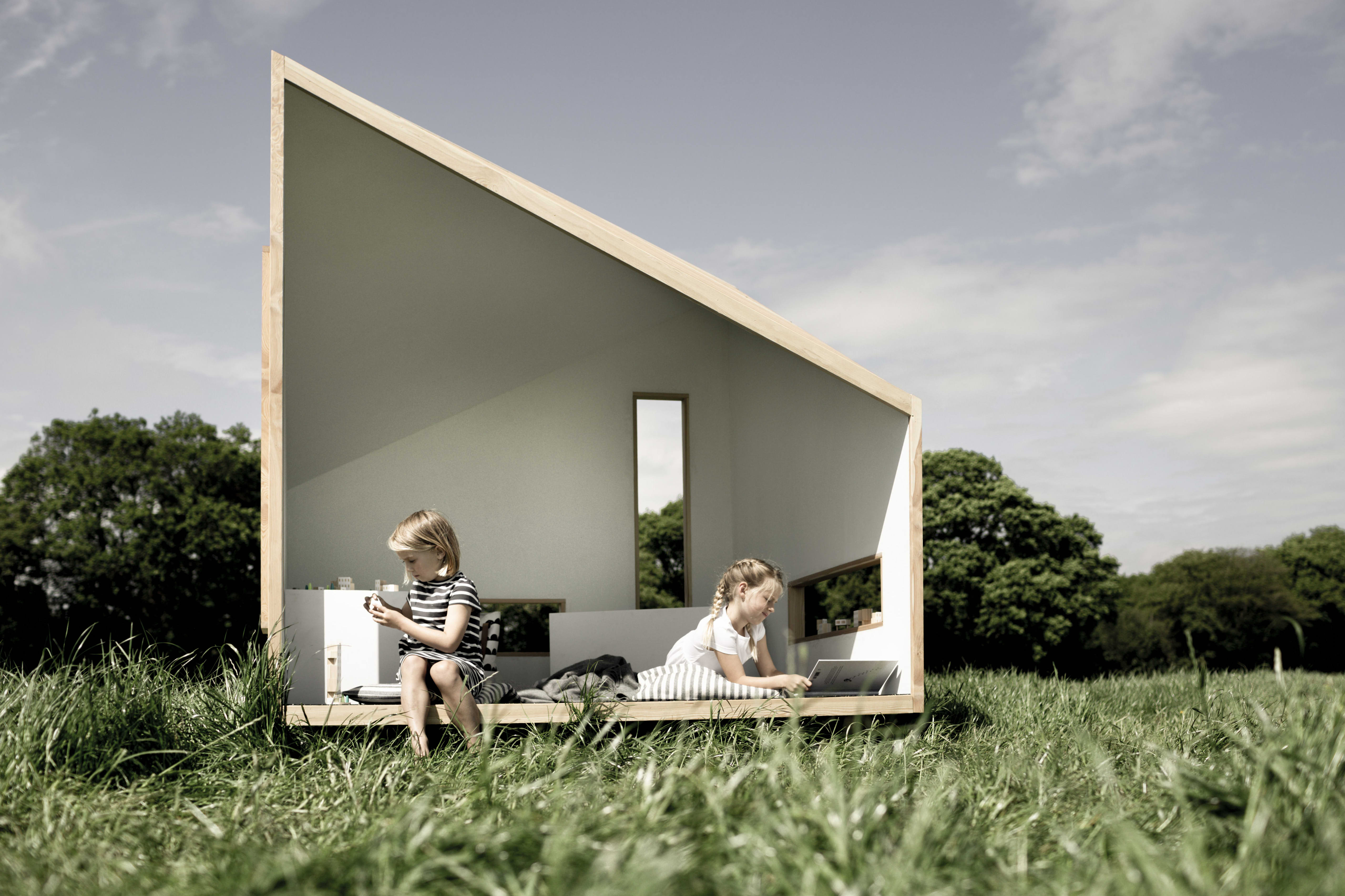 Tiny House Scandinavian Playhouse Koto   Apartment Therapy