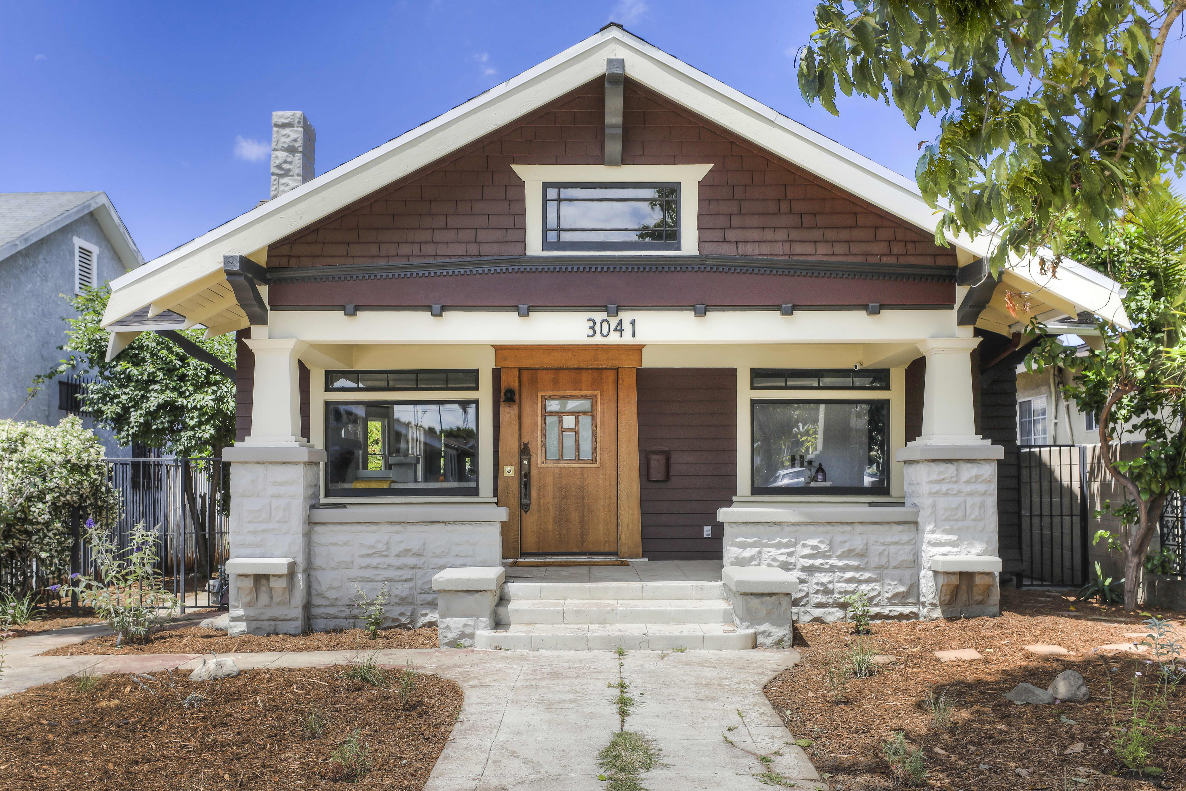 You Will Be Obsessed With This Sunny $1M California Bungalow's Forest Green Kitchen