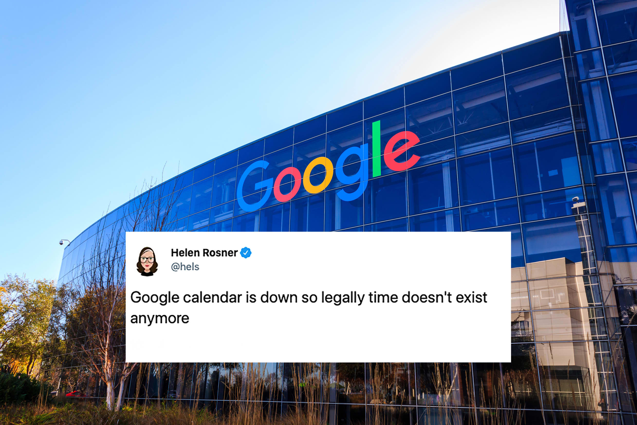 Google Calendar Is Down, Which Means You Can Do Whatever You Want, According to Twitter