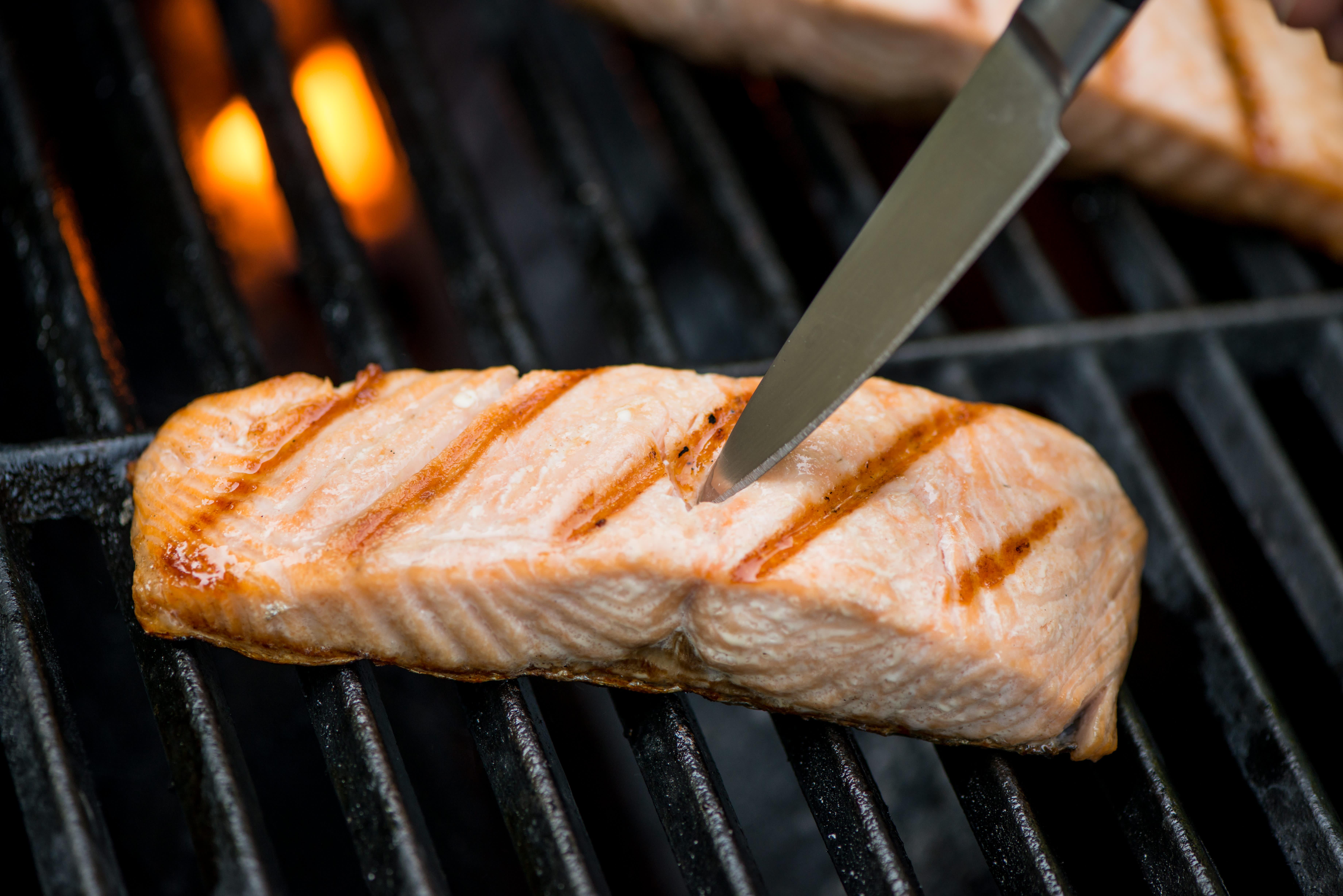 Easy Grilled Salmon Recipe Kitchn