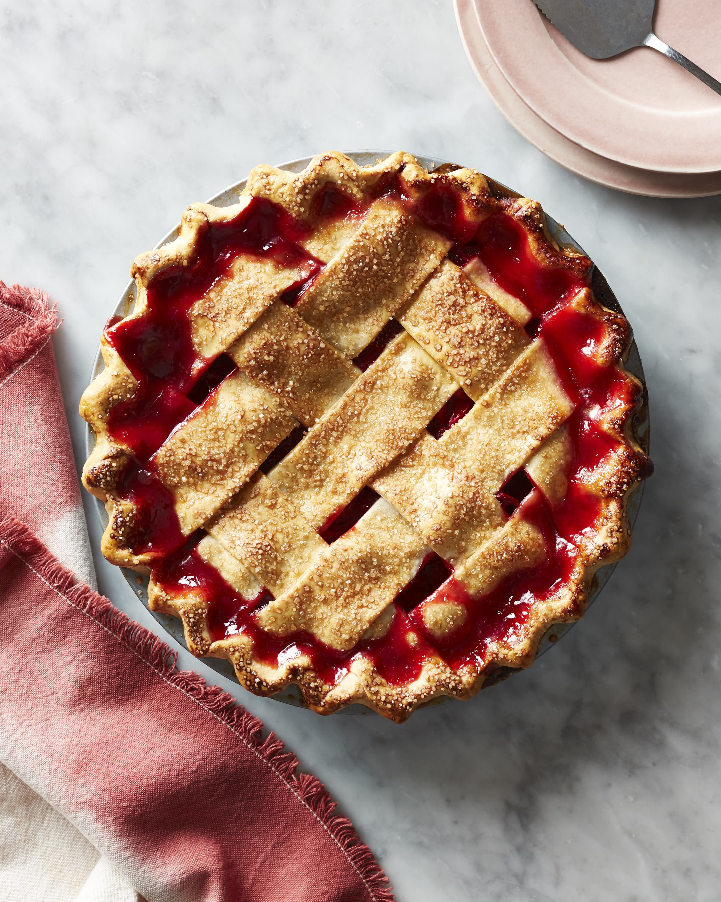 How To Make The Absolute Best Strawberry Rhubarb Pie Kitchn