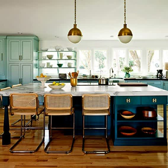 10 Gorgeous Blue And Green Kitchens Kitchn