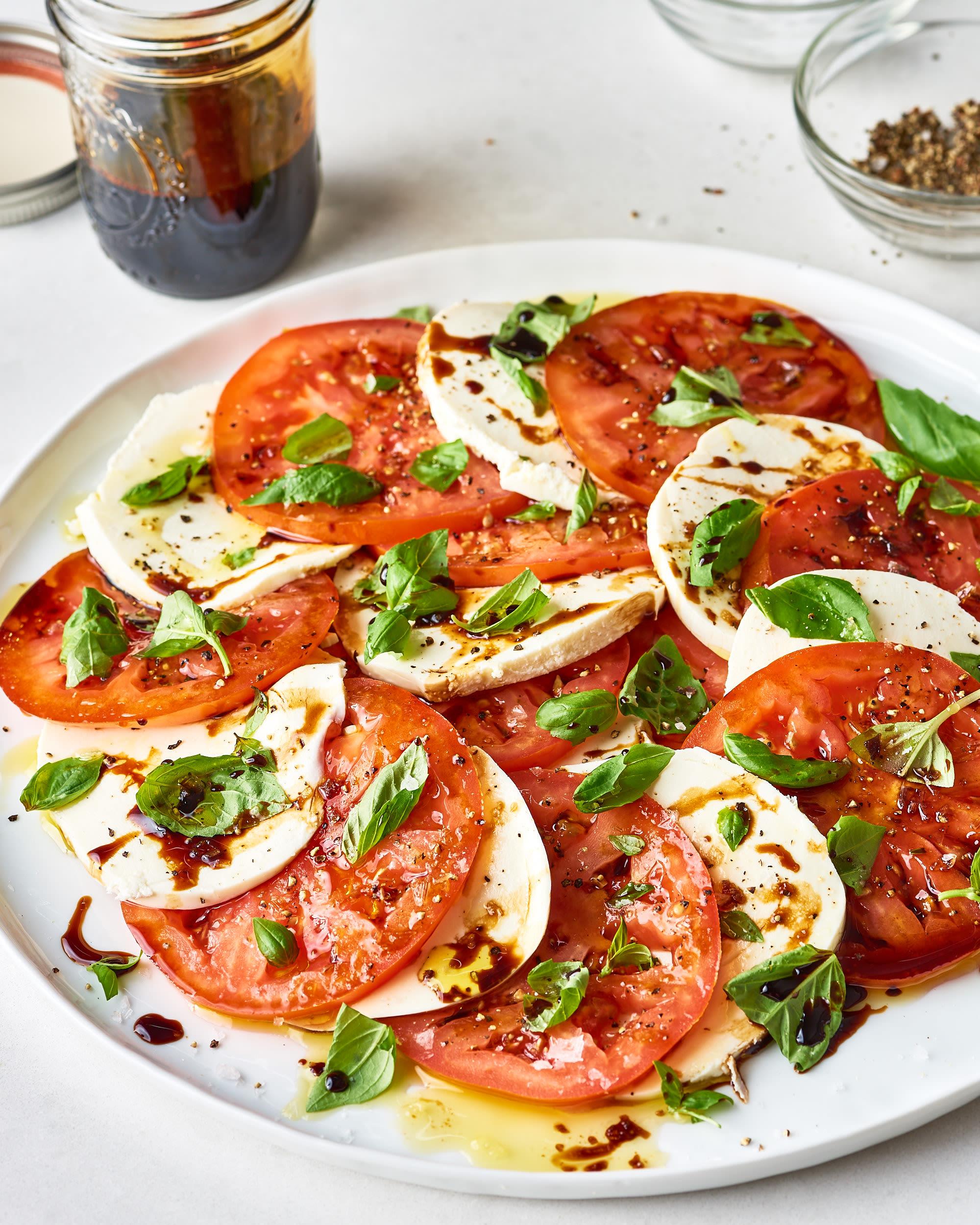 Caprese Salad Recipe Balsamic Vinegar