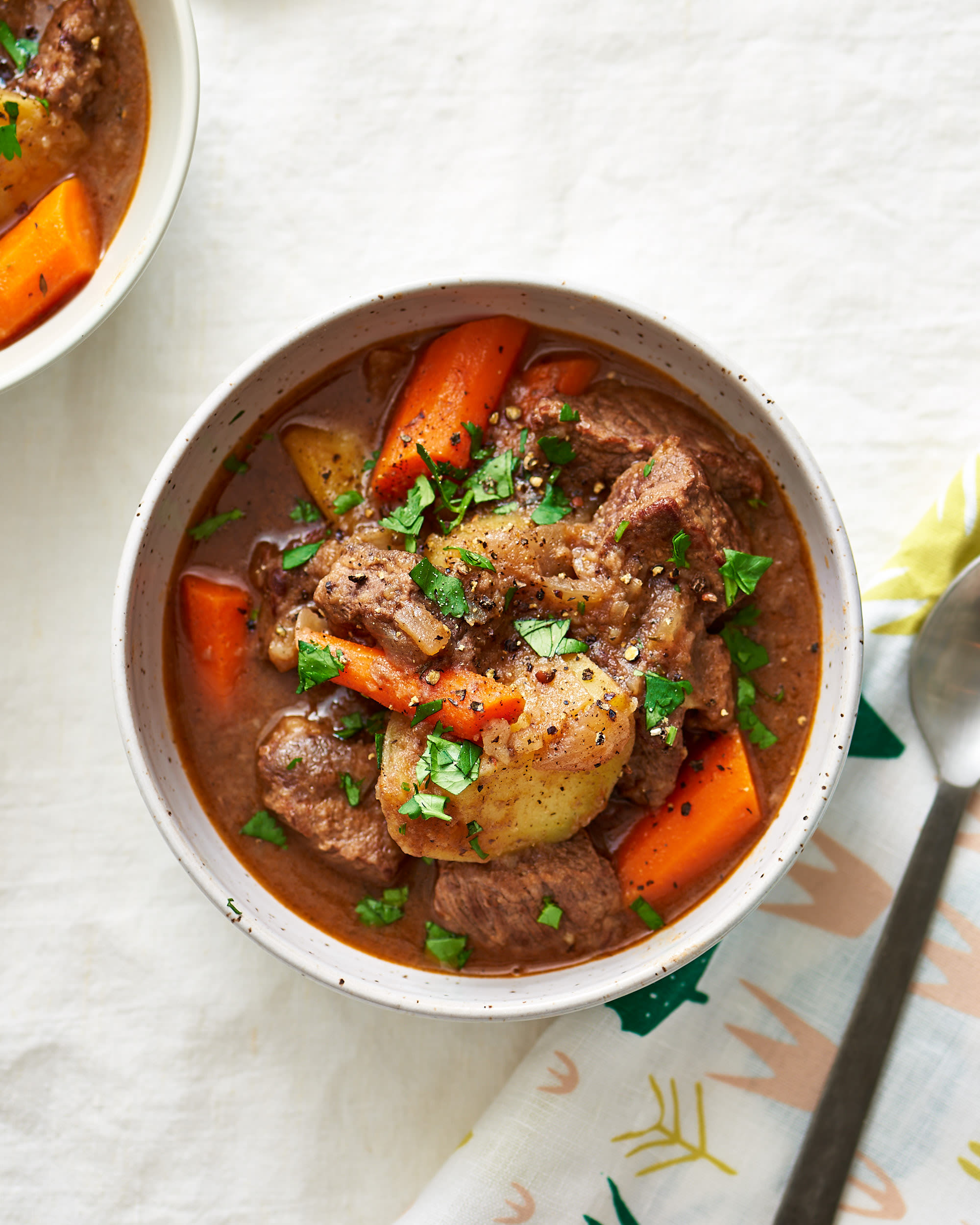 How To Make Beef Stew In The Slow Cooker Kitchn