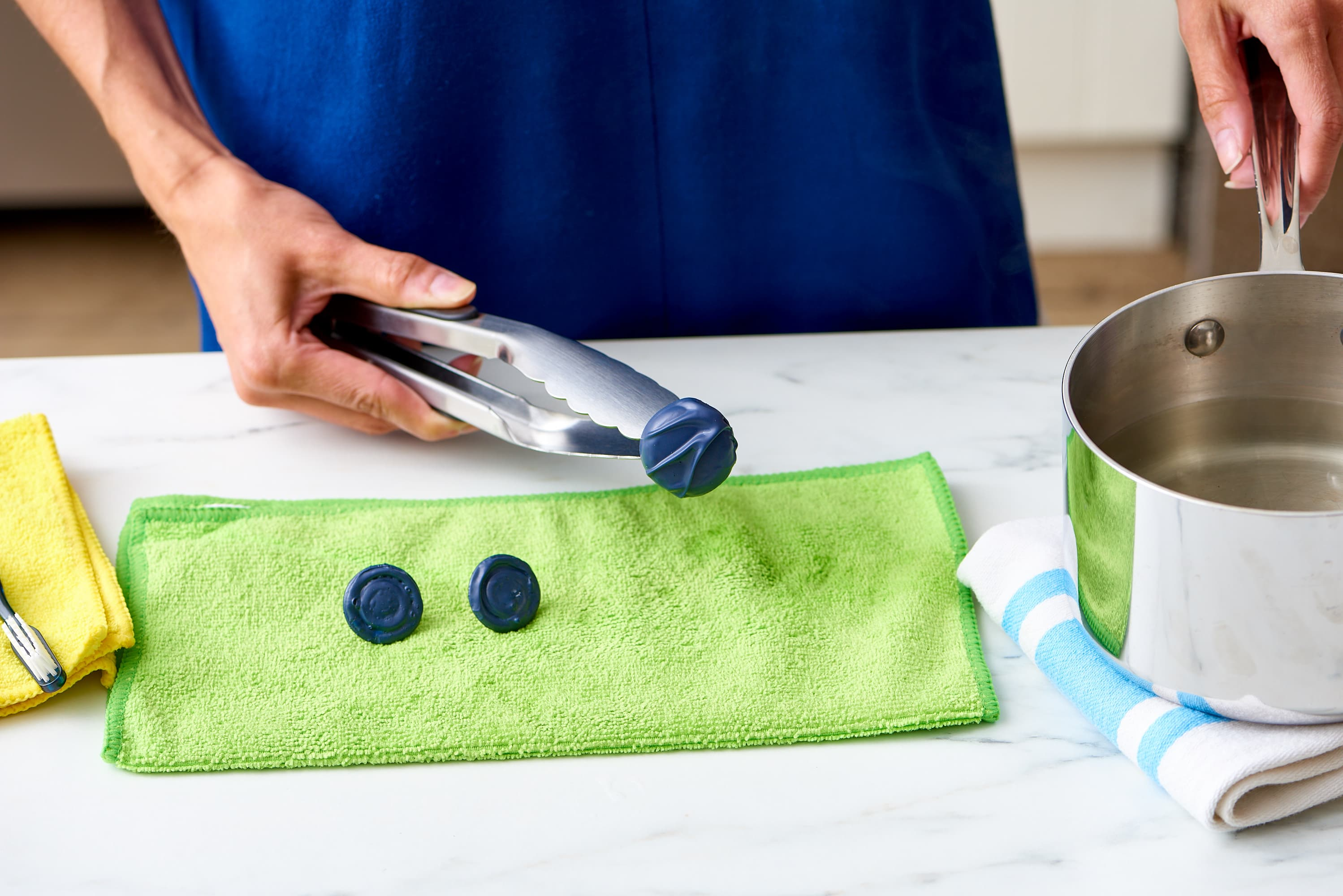 How To Remove Paint from Metal Kitchen Hardware   Kitchn