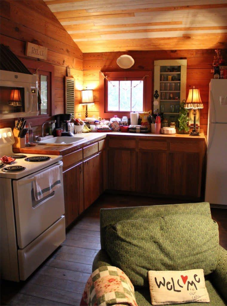 Summer Getaways Cozy Cabin Kitchens Kitchn
