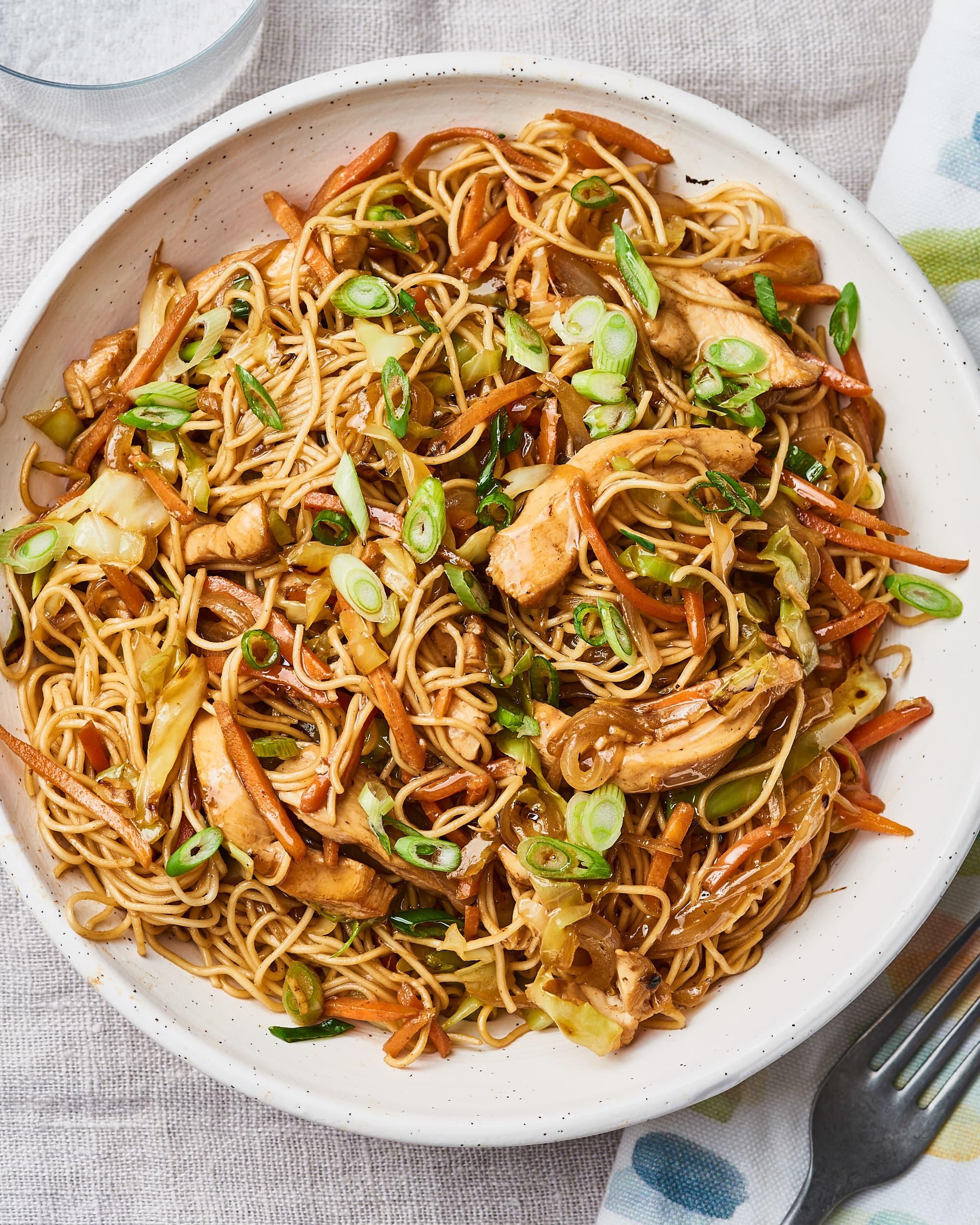Chicken Chow Mein Kitchn