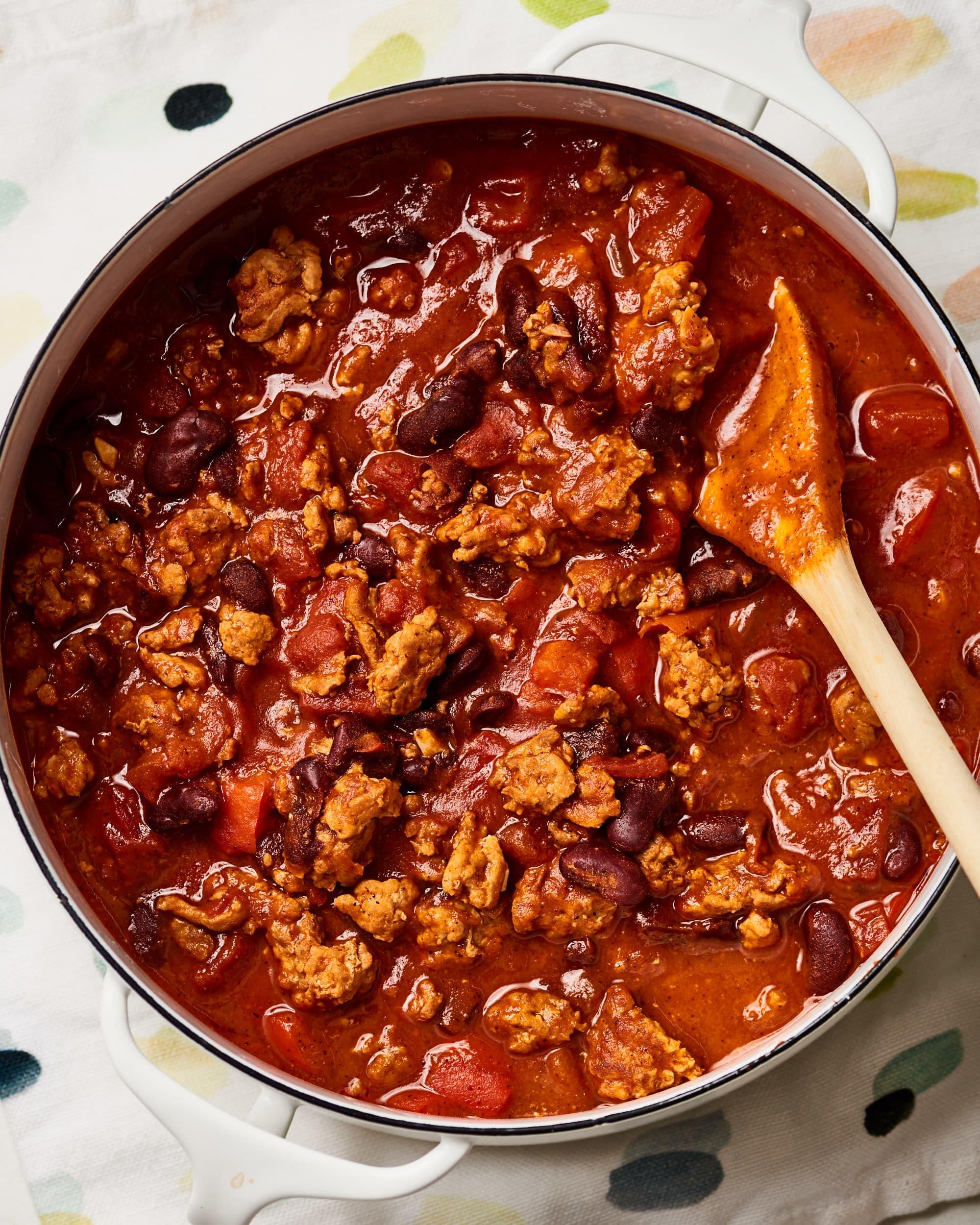 Easy Turkey Chili Kitchn