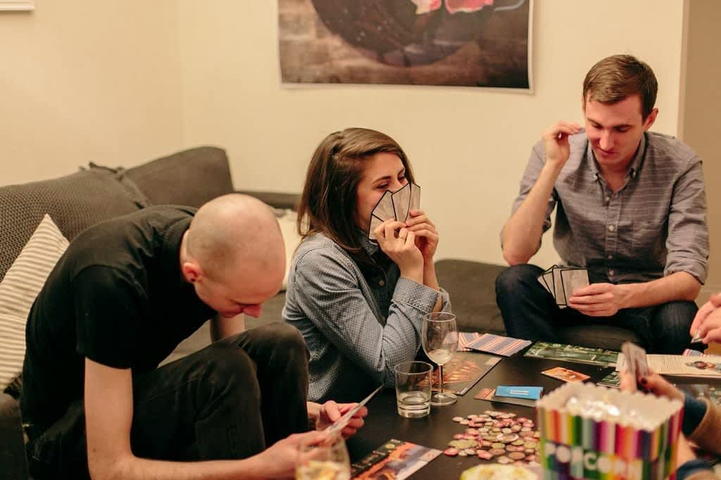 A Friday Board Game Night With Friends Dinner Snacks Sangria Kitchn
