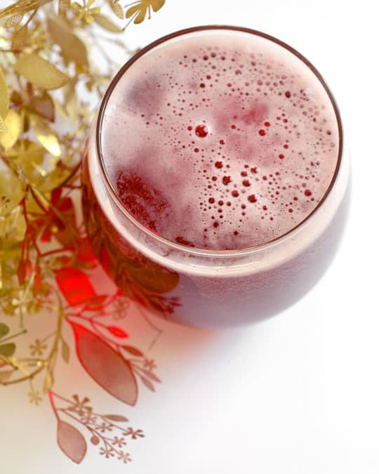 Non-Alcoholic Drink Recipes For Thanksgiving