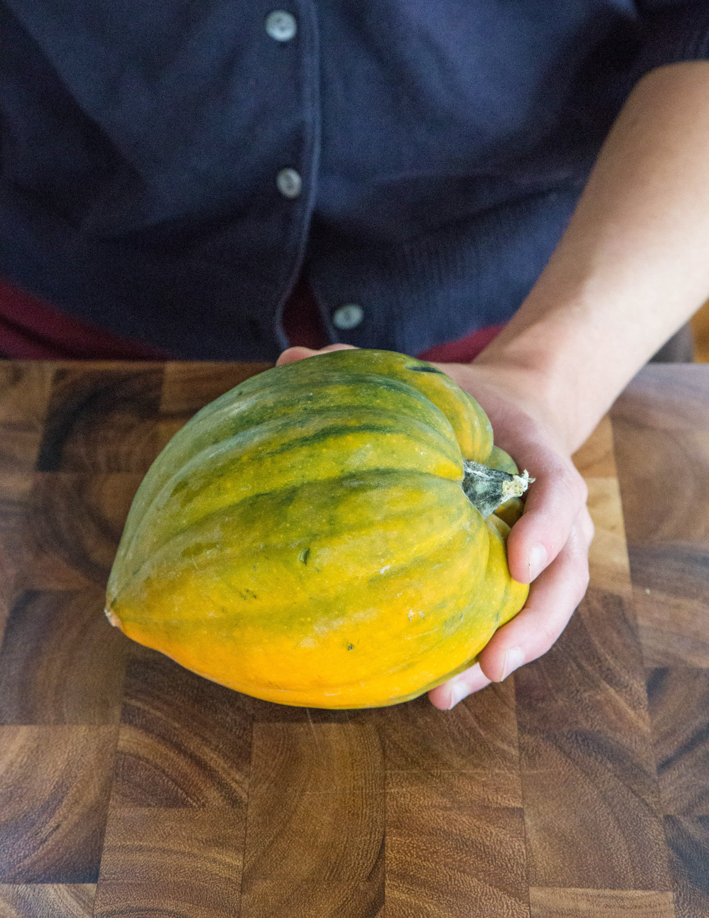 How To Cook Acorn Squash In The Oven The Easiest Simplest Method Kitchn