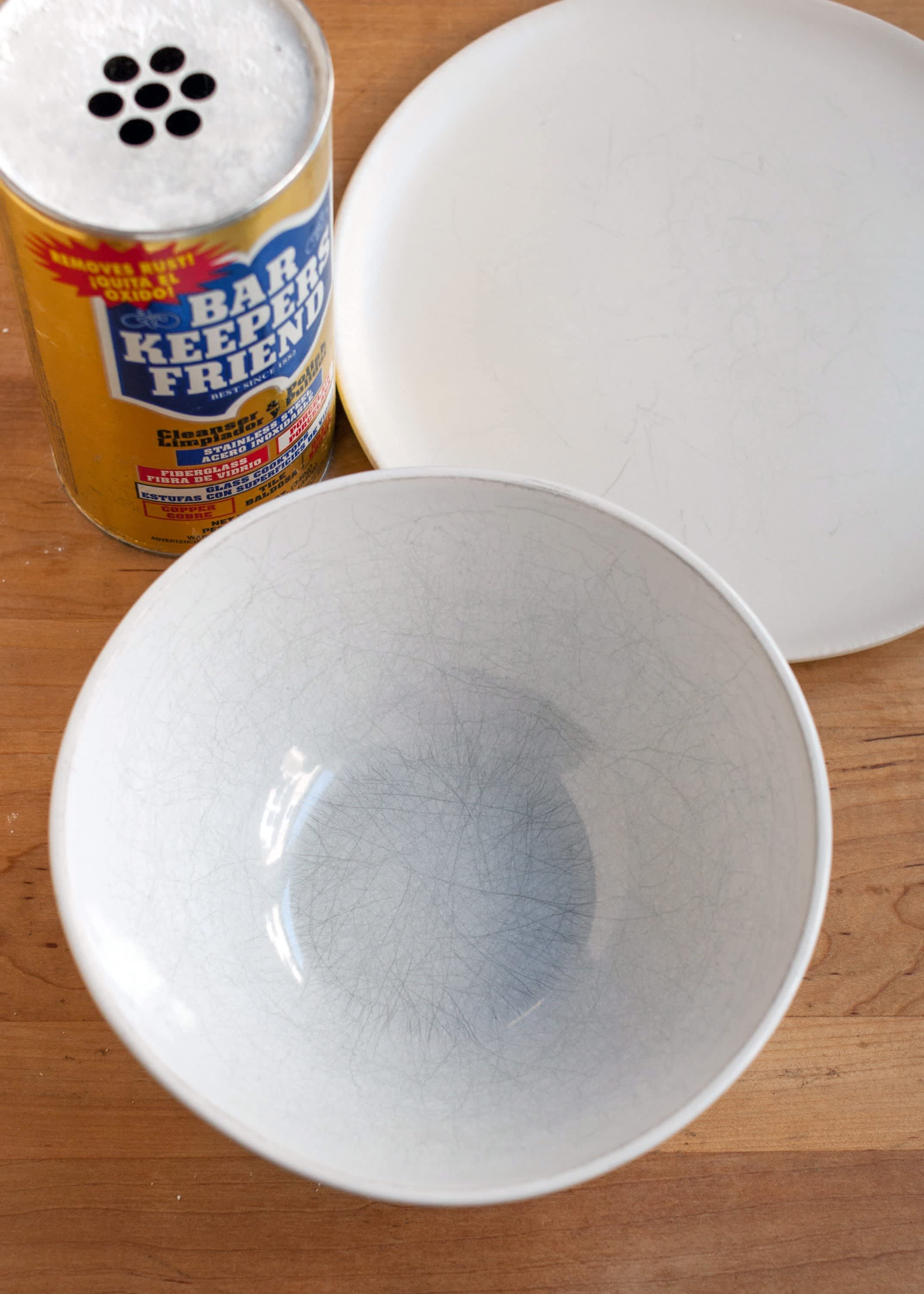 The Best Way to Remove Scuff Marks from White Dishes  Kitchn