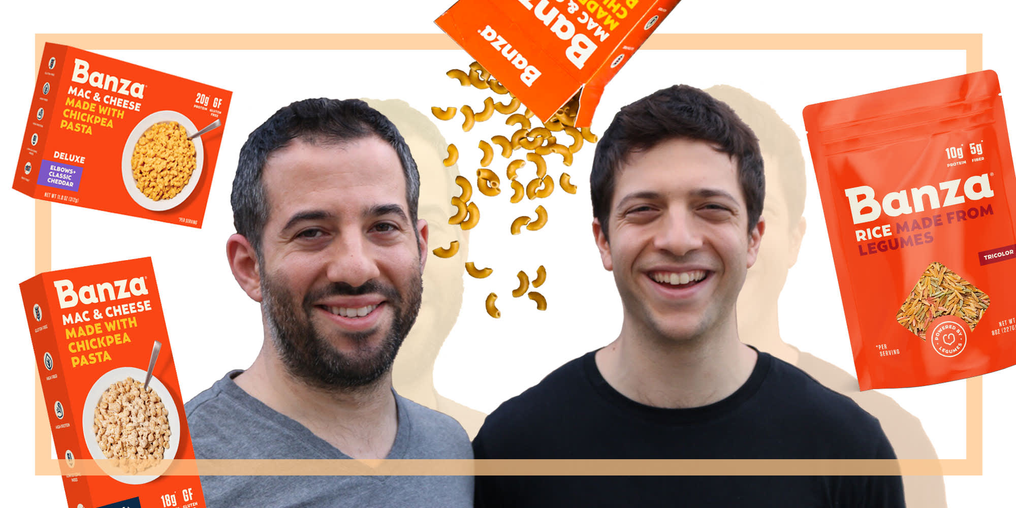 The Banza Backstory: How Two Brothers Made Chickpea Pasta a Thing