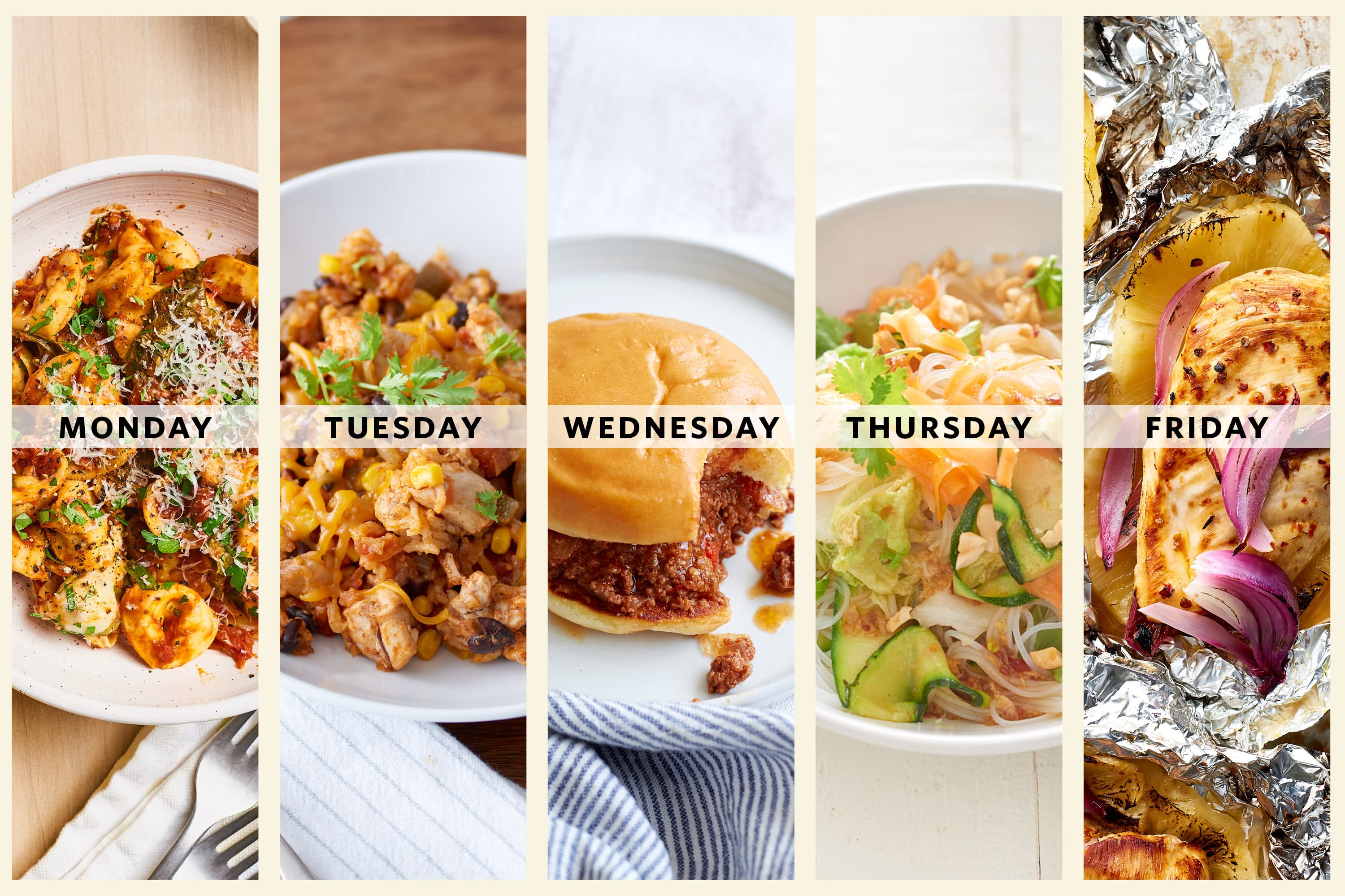 Next Week's Meal Plan: A Week of Oven-Free Dinners When It's Too Hot to Cook