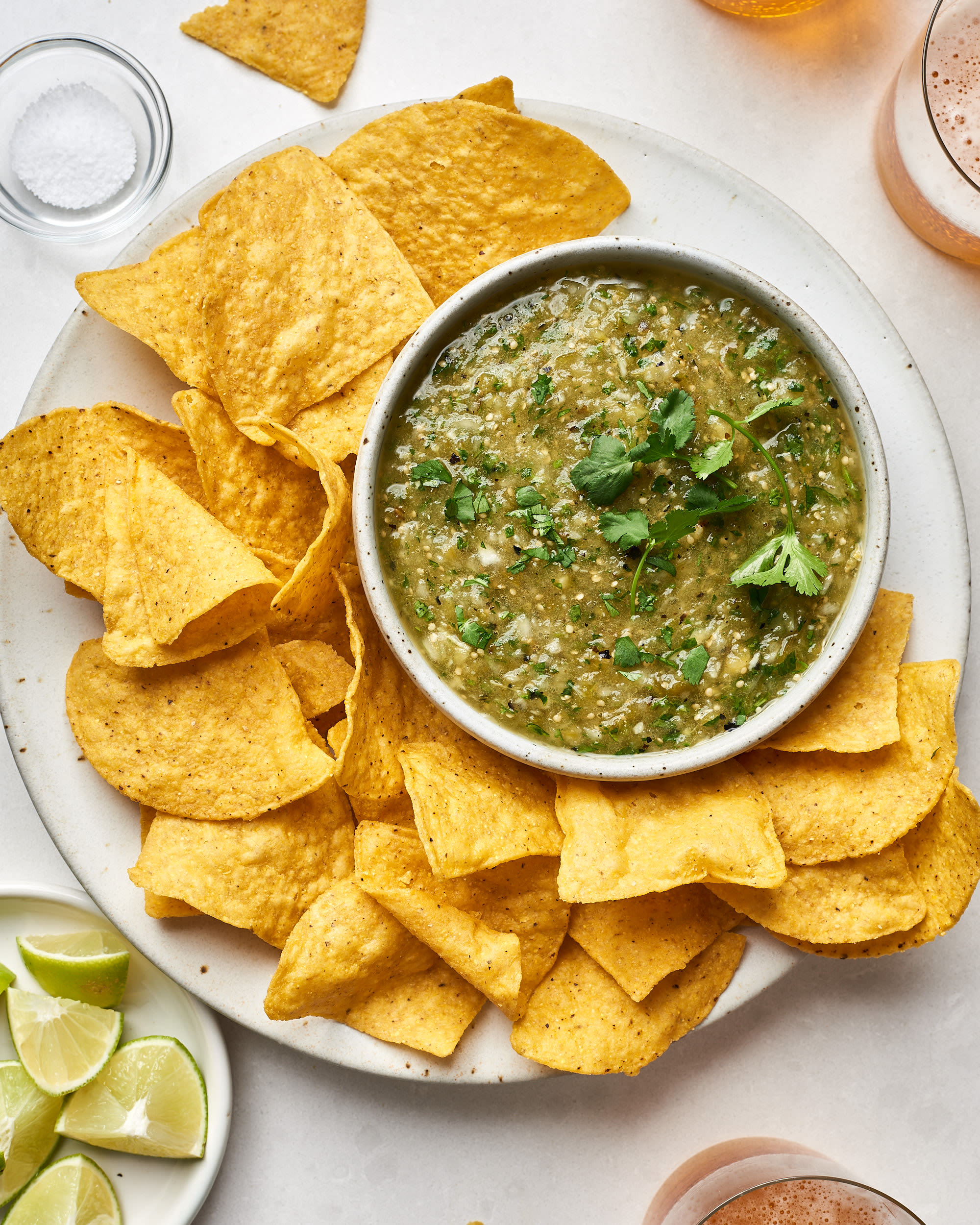 How To Make Fresh & Easy Salsa Verde (Just 5 Ingredients!)