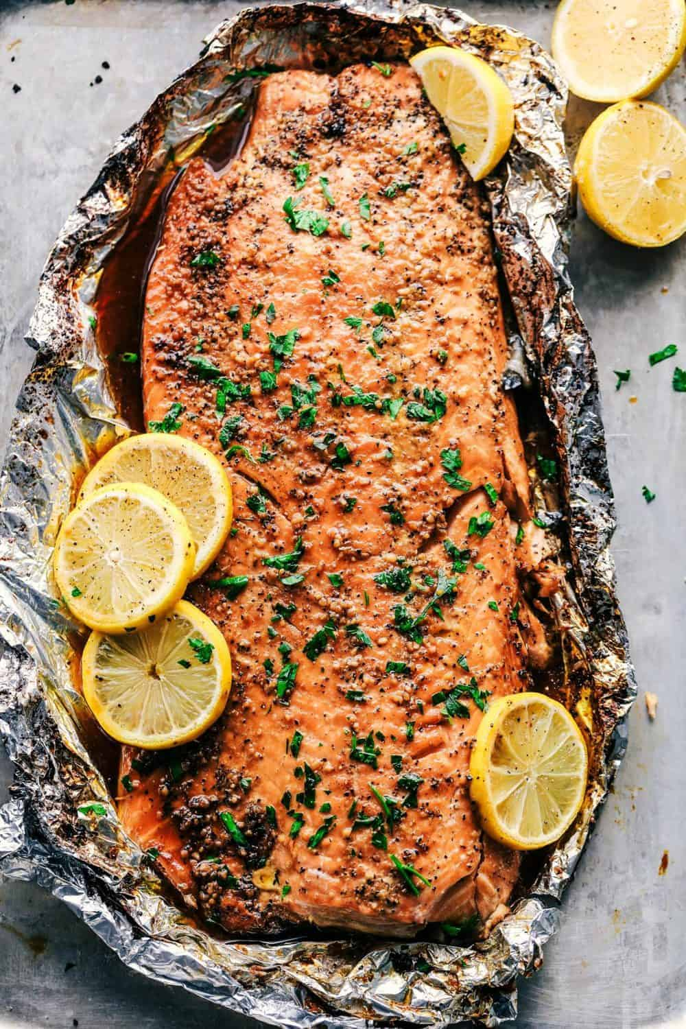Garlic Brown Sugar Glazed Salmon Is the Easiest, Best Way to Eat Salmon