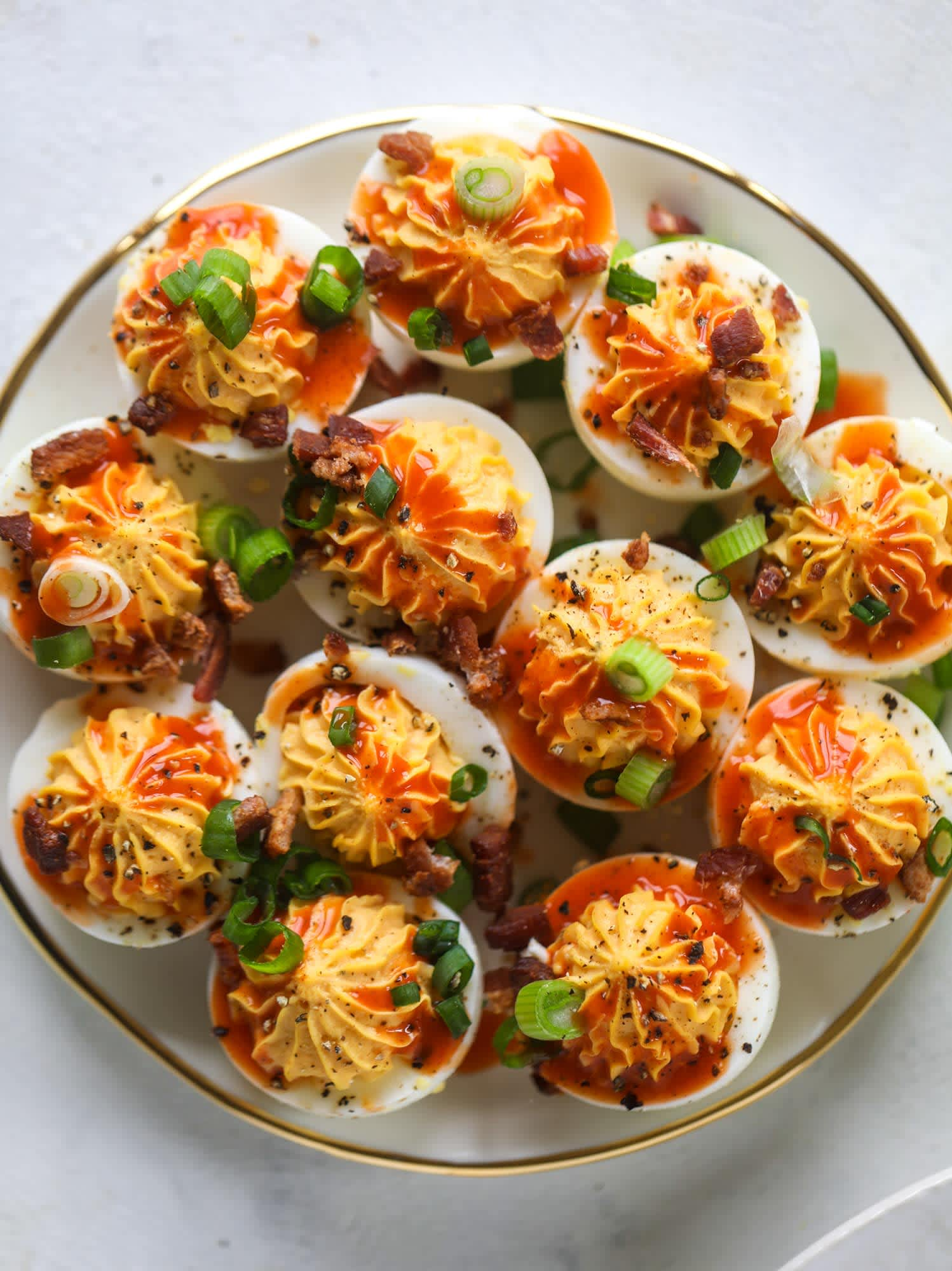 If You're Not Making Buffalo Deviled Eggs, What Are You Even Doing with Your Life?