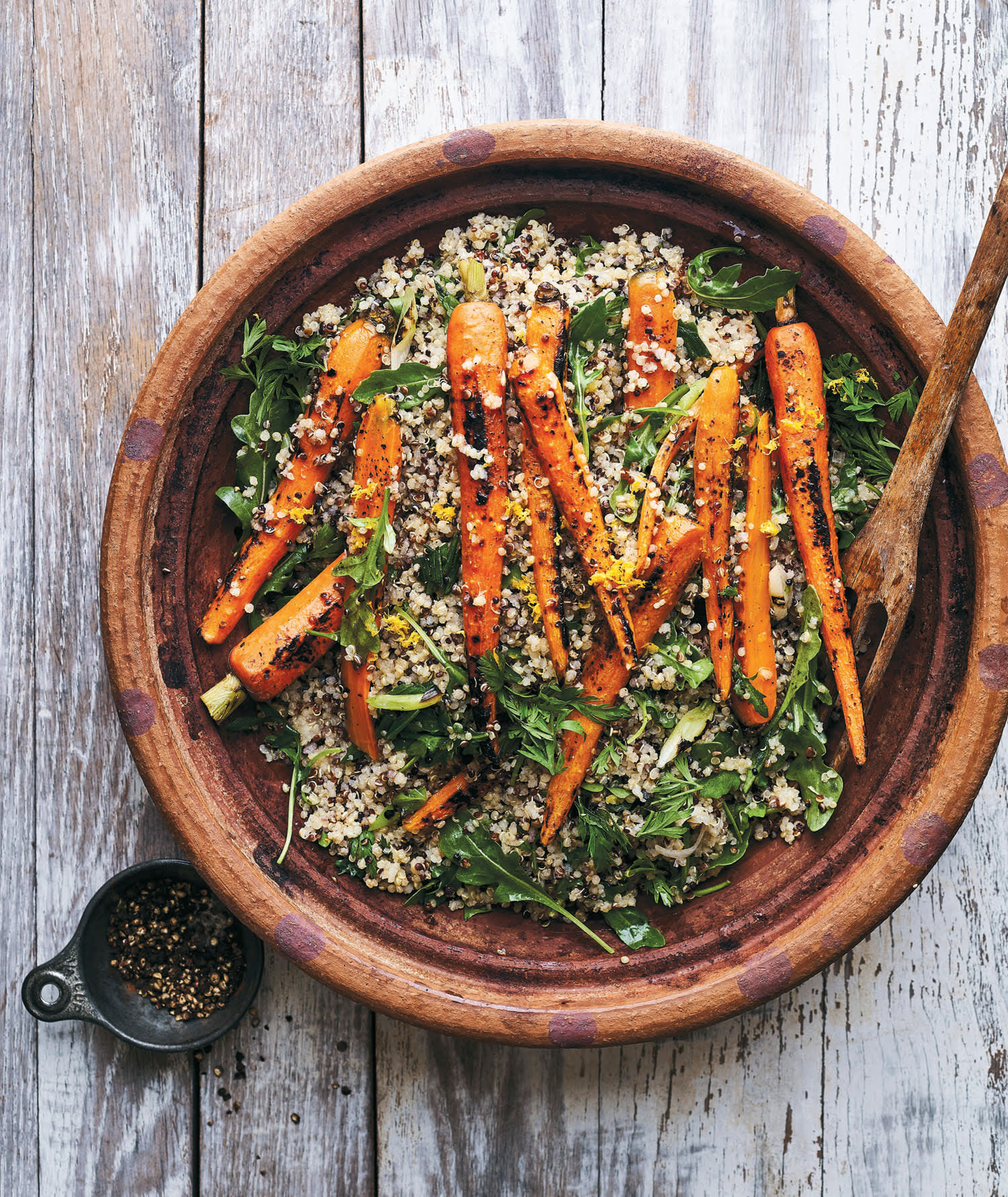 You're Going to Want to Make This Grilled Grain Salad Every Week