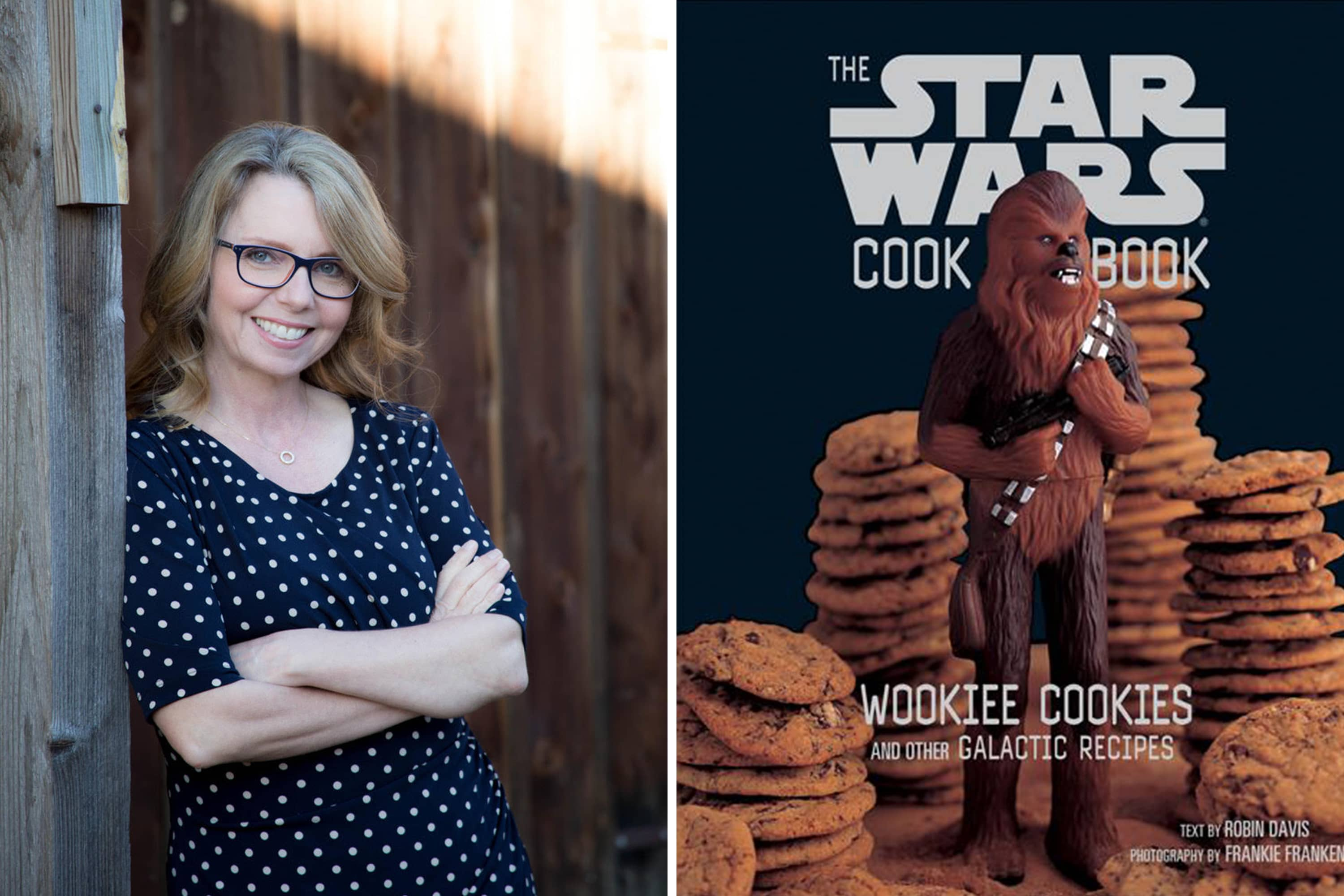 More Than Two Decades Later, Robin Davis' Star Wars Cookbook Delights Fans of All Ages