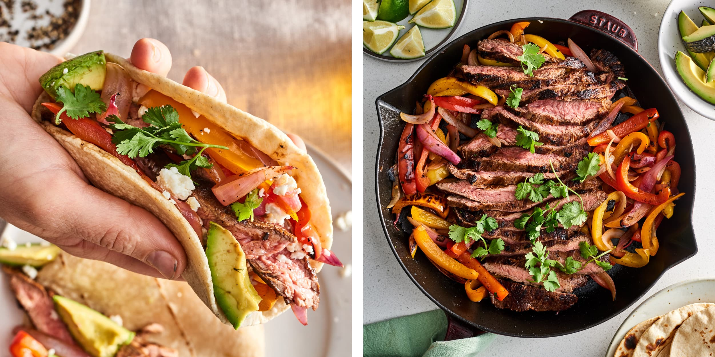 Here's How to Make the Best Restaurant-Style Steak Fajitas at Home