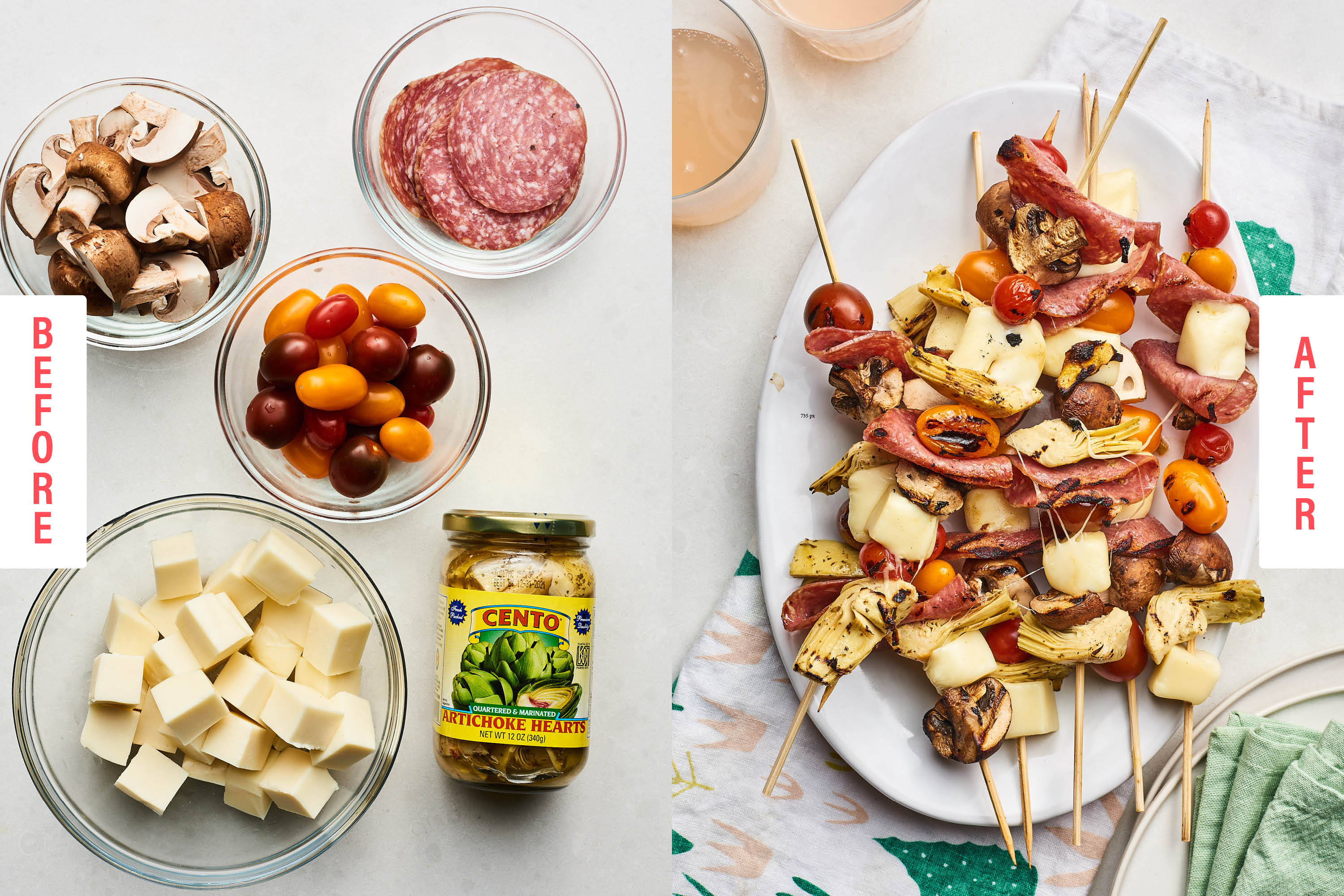 5 Grilled Skewer Recipes You'll Make All Summer Long