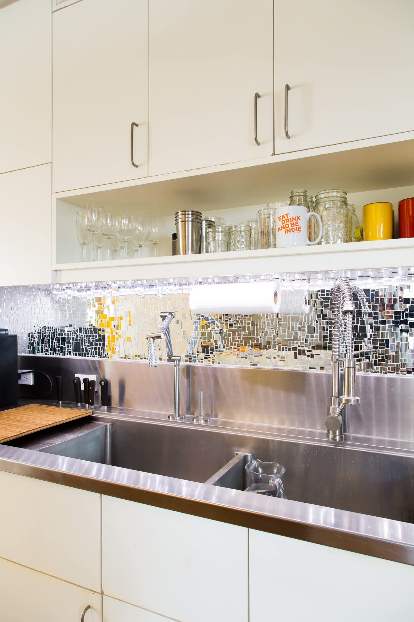 This Ingenious Sink Was Inspired By Restaurant Kitchens Kitchn