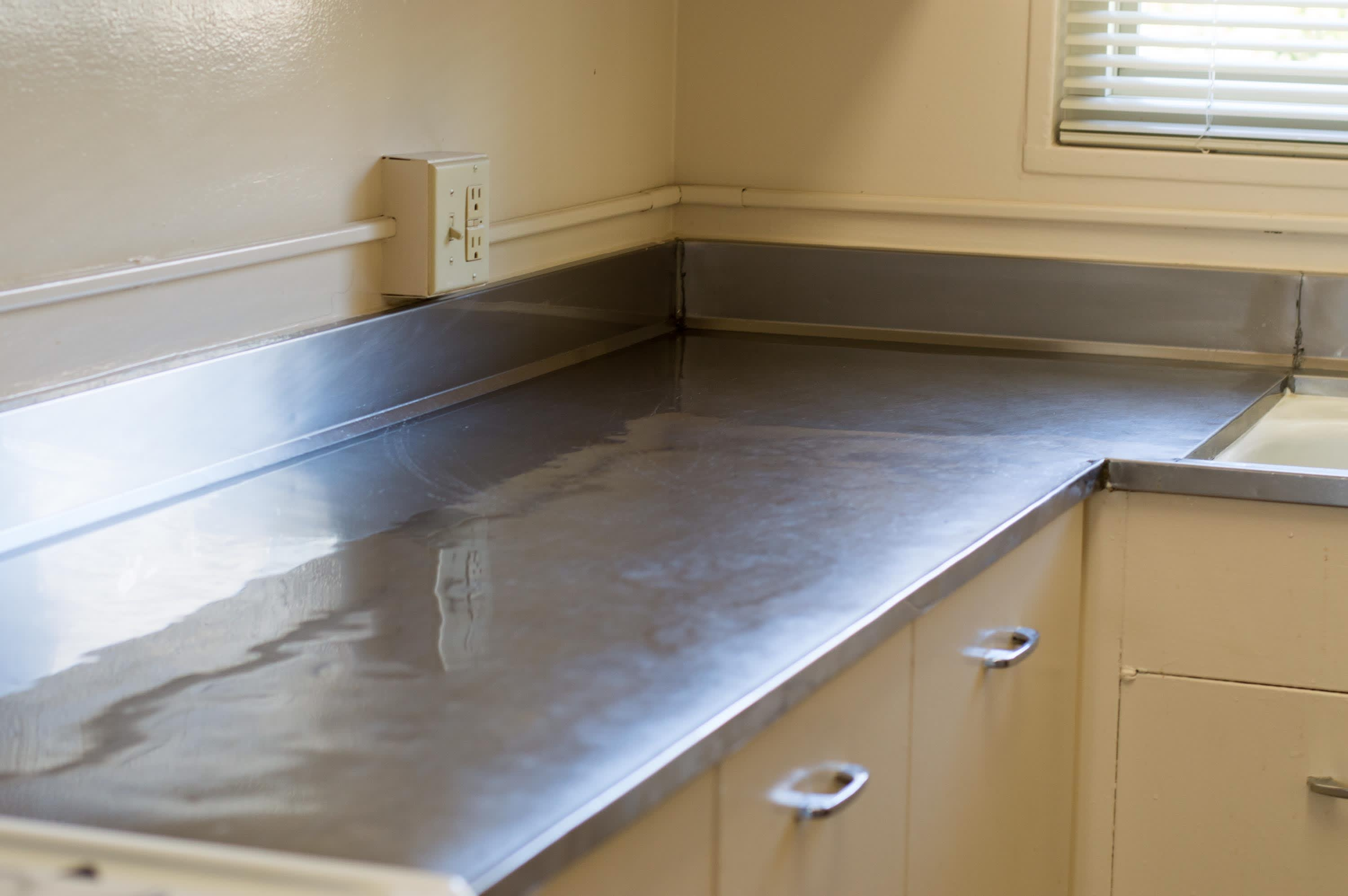 How To Clean Stainless Steel Countertops To A Shiny Streak Free Finish Kitchn