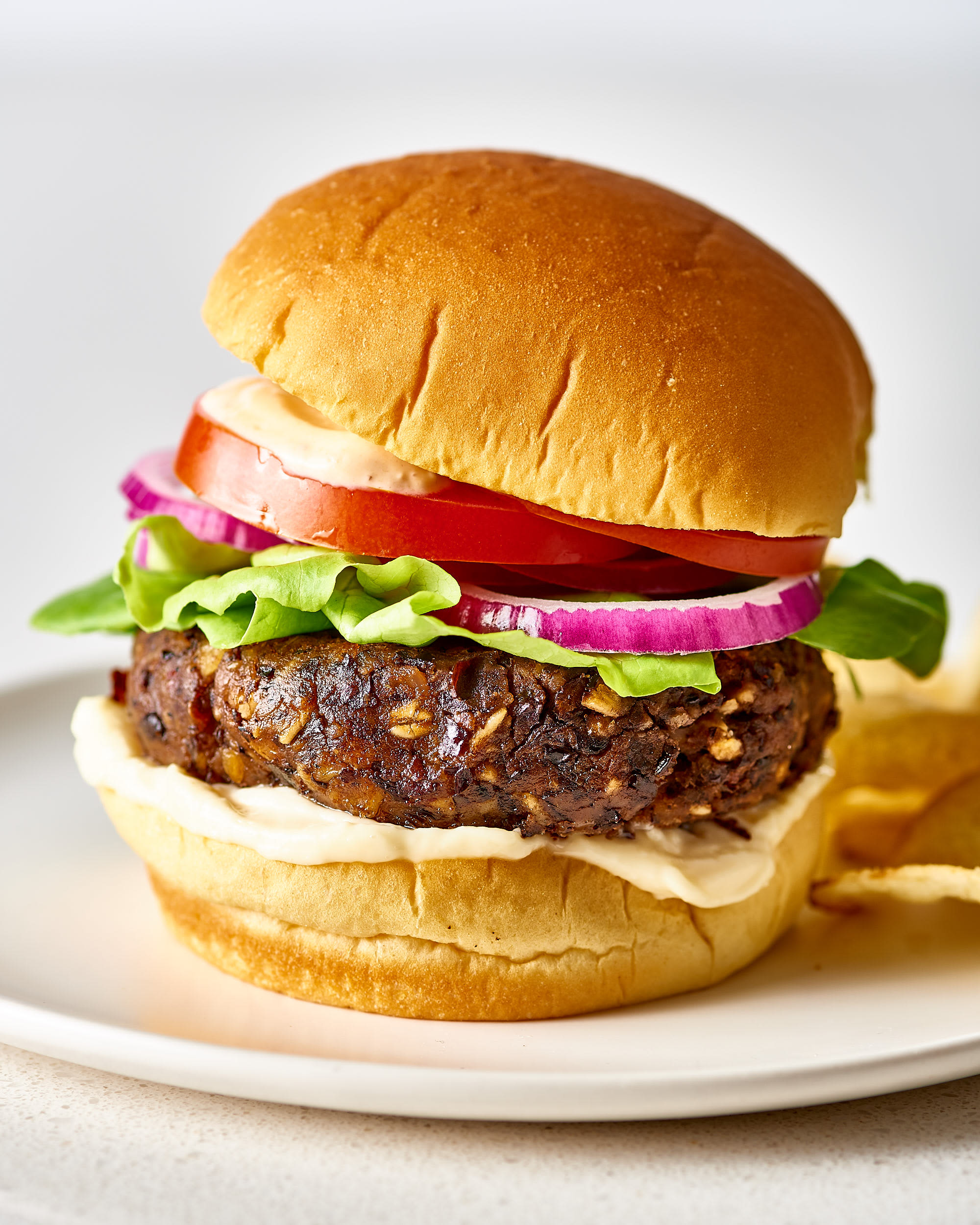 This 1 Ingredient Ensures You'll Never Make a Dry, Crumbly Veggie Burger Again