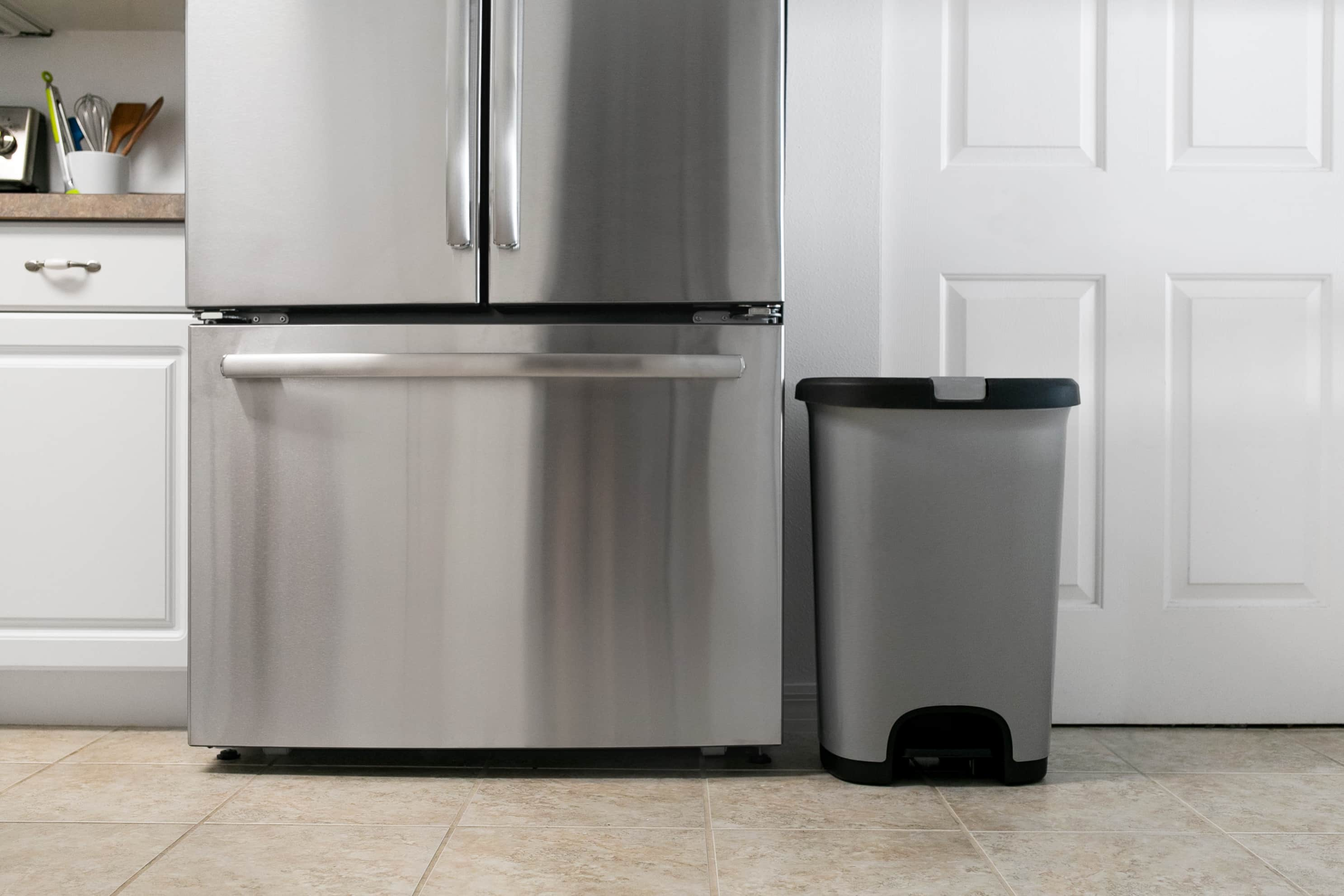 Why I'm Obsessed With This Oh-So-Basic Trash Can