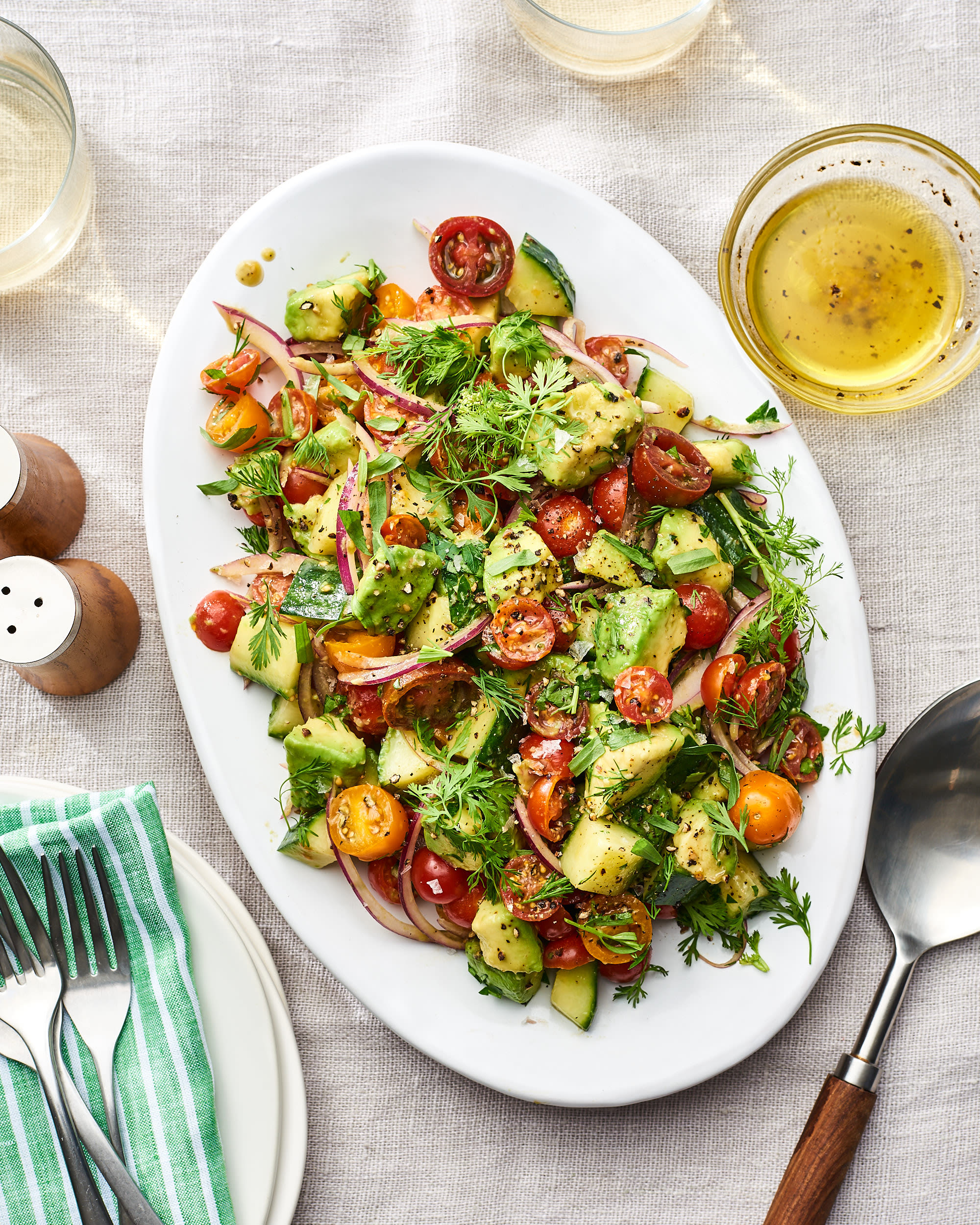 Recipe: Avocado Salad with Tomatoes and Herbs