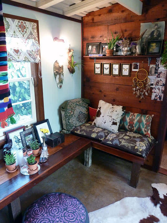 Noa & Stuart's Boho-Chic Bungalow (and Shed Remodel ...