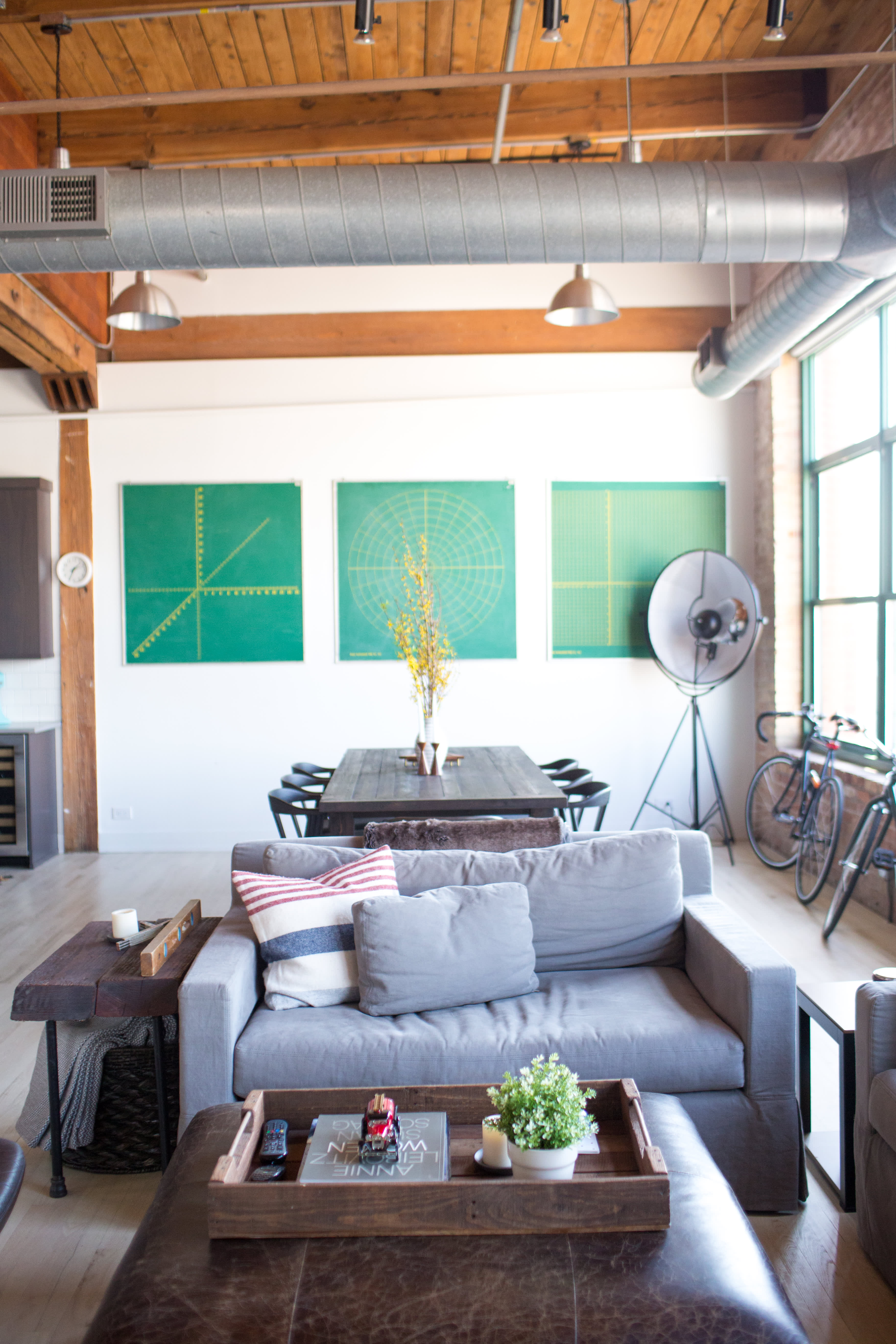 House Tour: Cozy, Comfortable Style in Chicago | Apartment ...