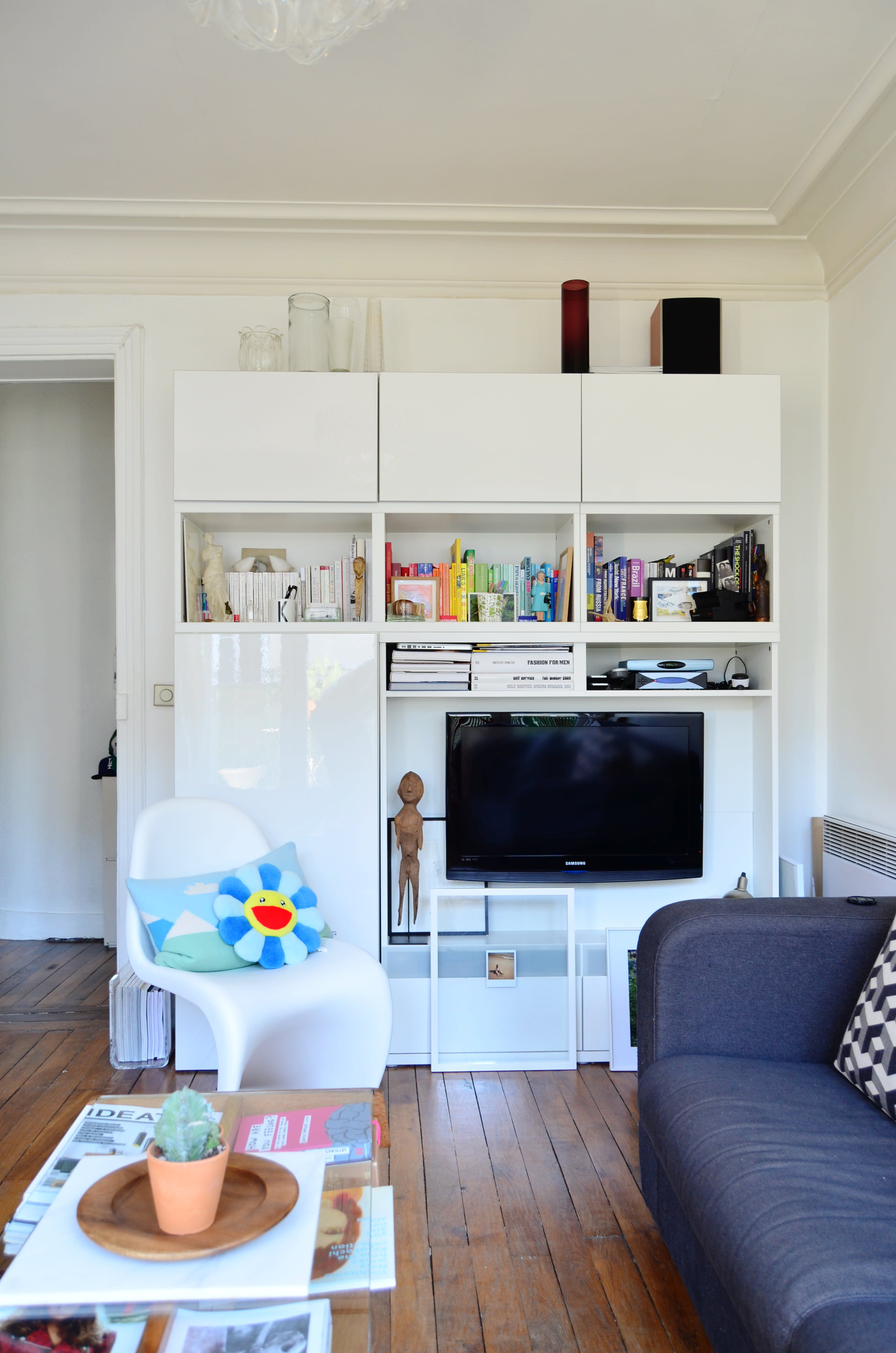 Small Living Room Apartment Therapy: House Tour: A Sunny Small Space In Paris
