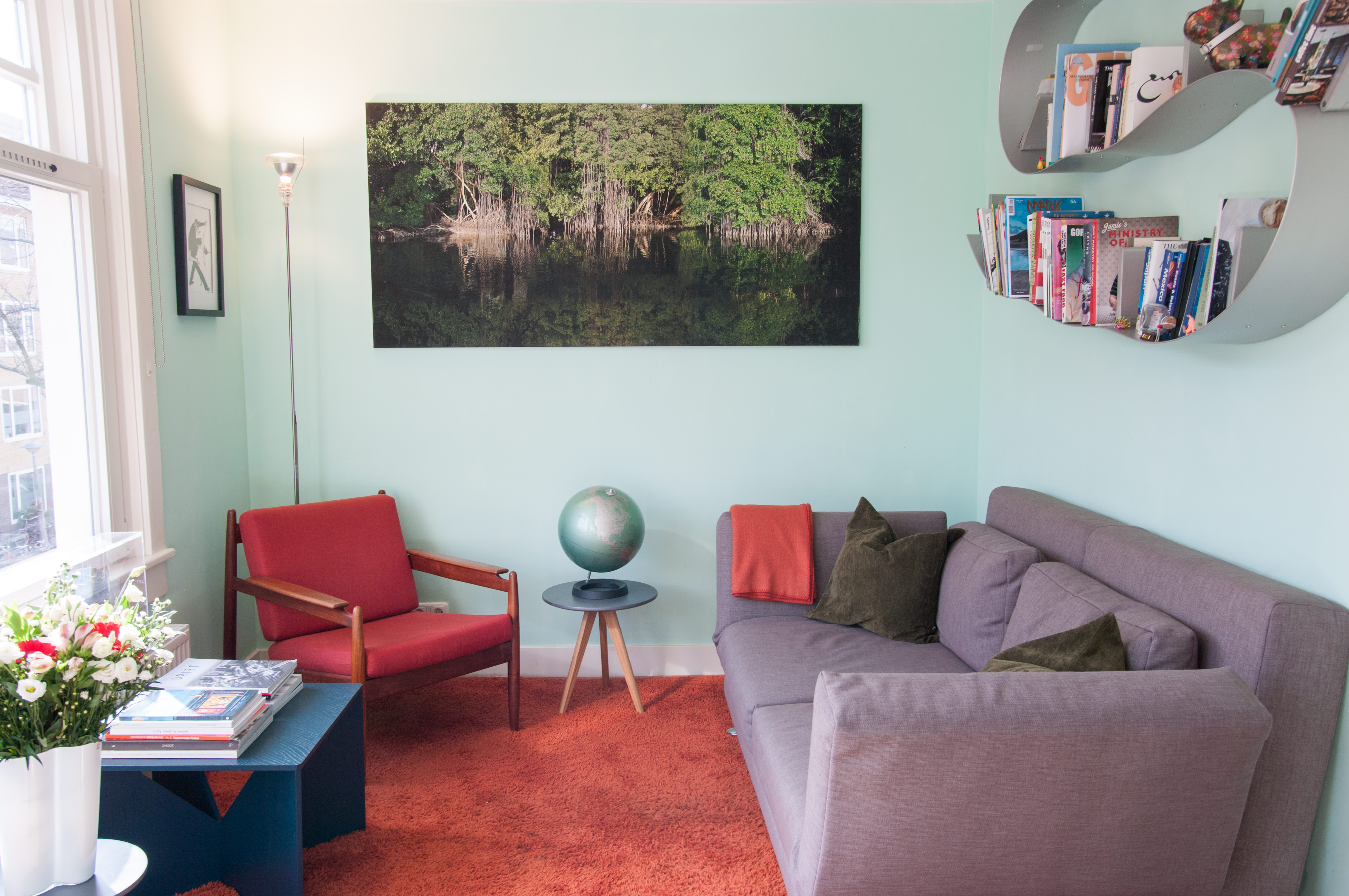 House Tour A Mexican Folklore Inspired Amsterdam Home Apartment Therapy