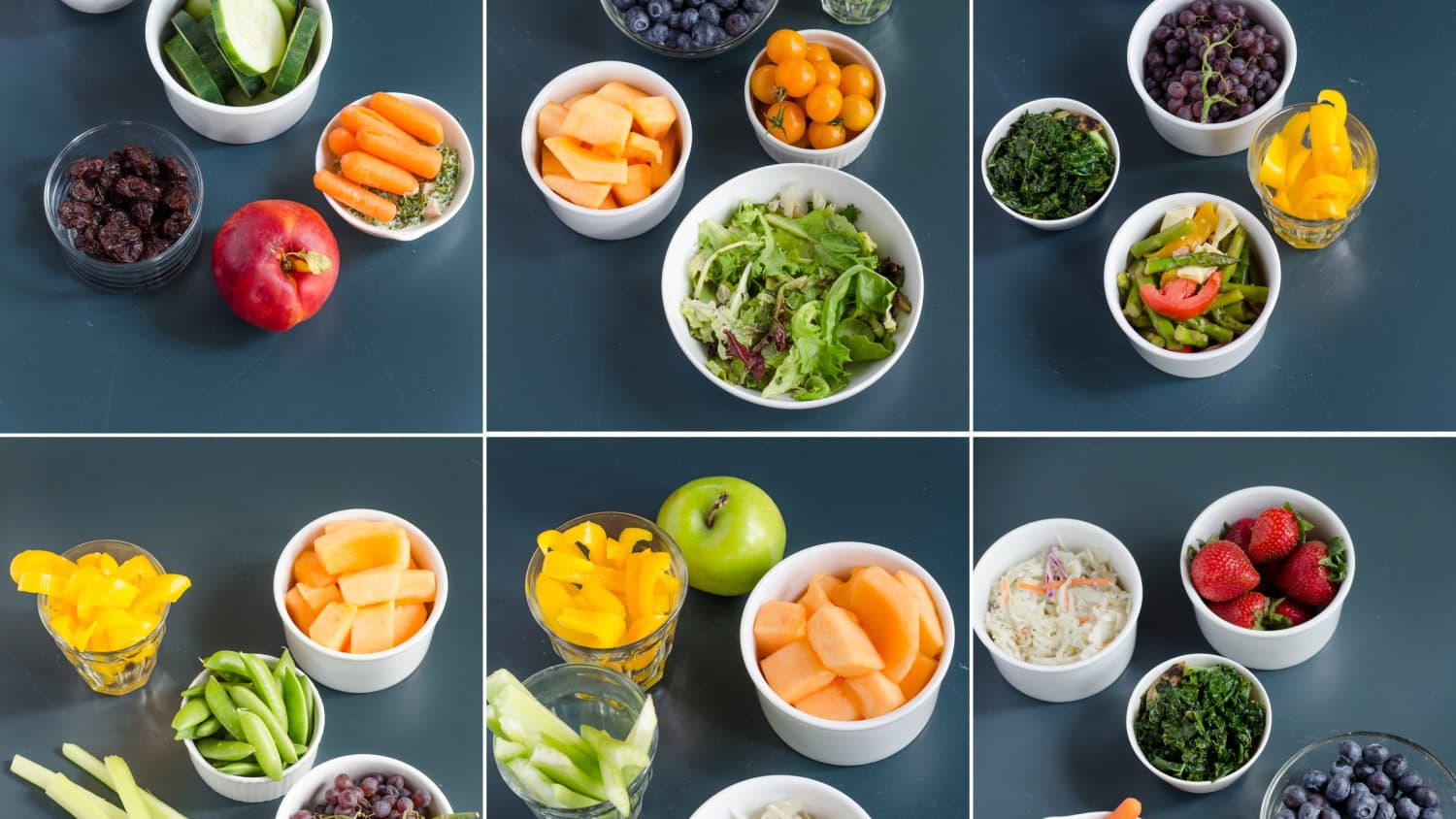 Meet the people who eat 10 portions of fruit and vegetables a day ...
