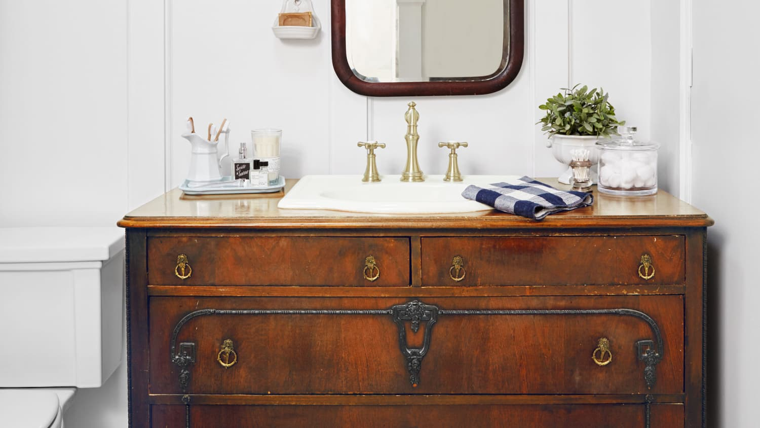 7 Ways To Repurpose A Vintage Dresser And Gain More Storage In Every Room Apartment Therapy