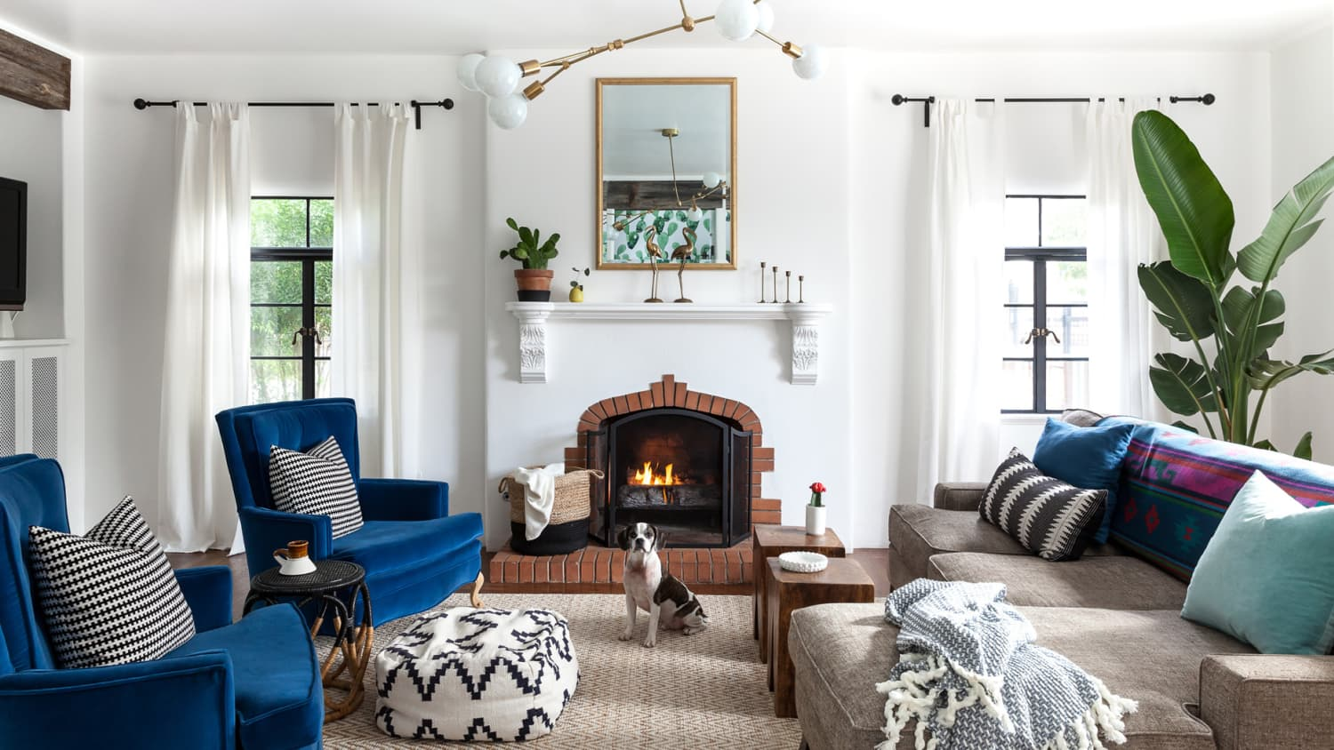 Fireplace Decorating Ideas For Your Living Room Apartment Therapy