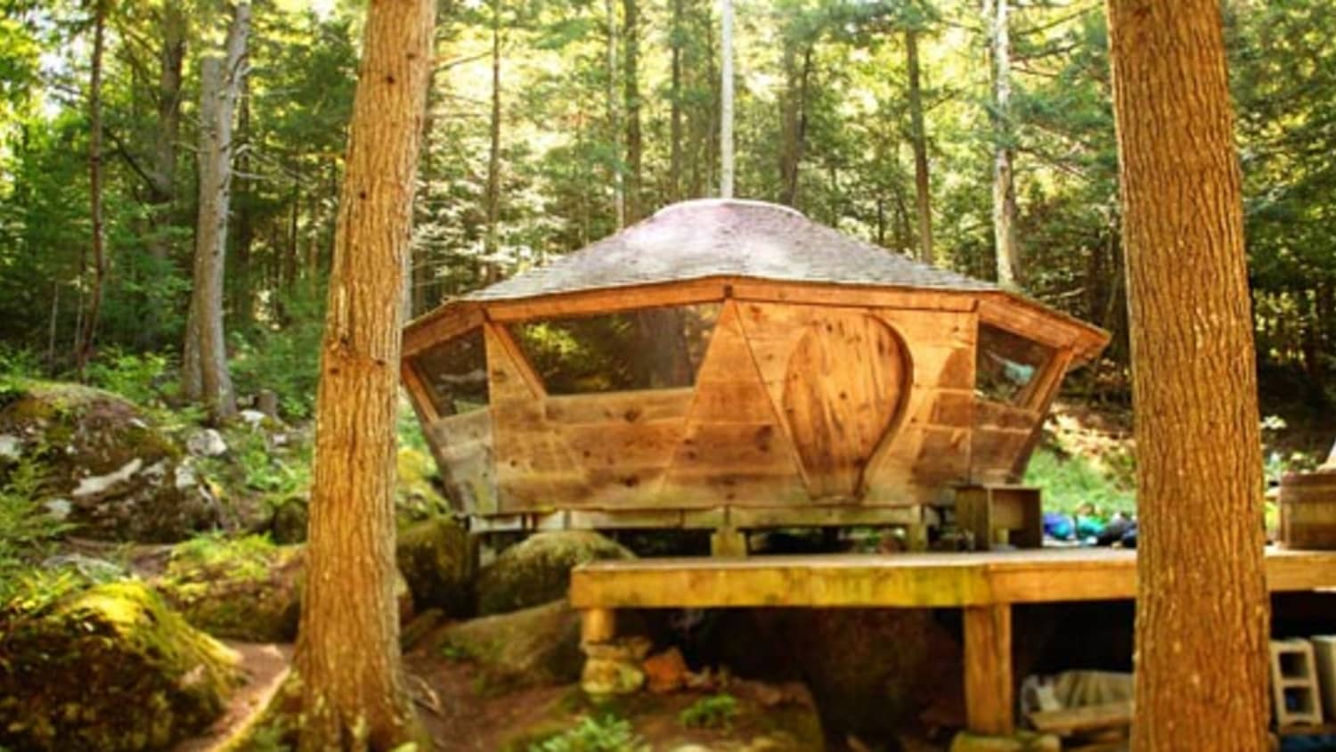 The Farrells 250 Square Foot Mongolian Yurt Apartment Therapy