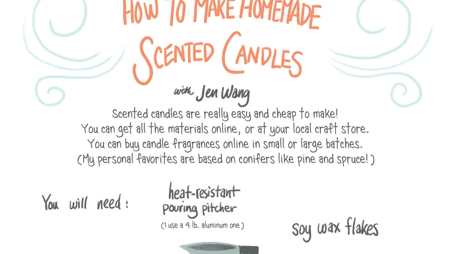 How To Make Homemade Scented Candles Apartment Therapy
