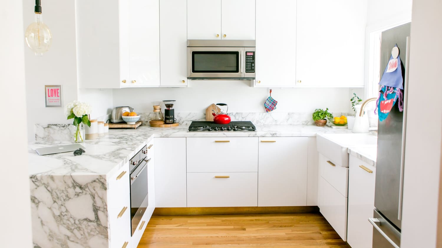 The Best Place To Put A Microwave Pros Cons Apartment Therapy