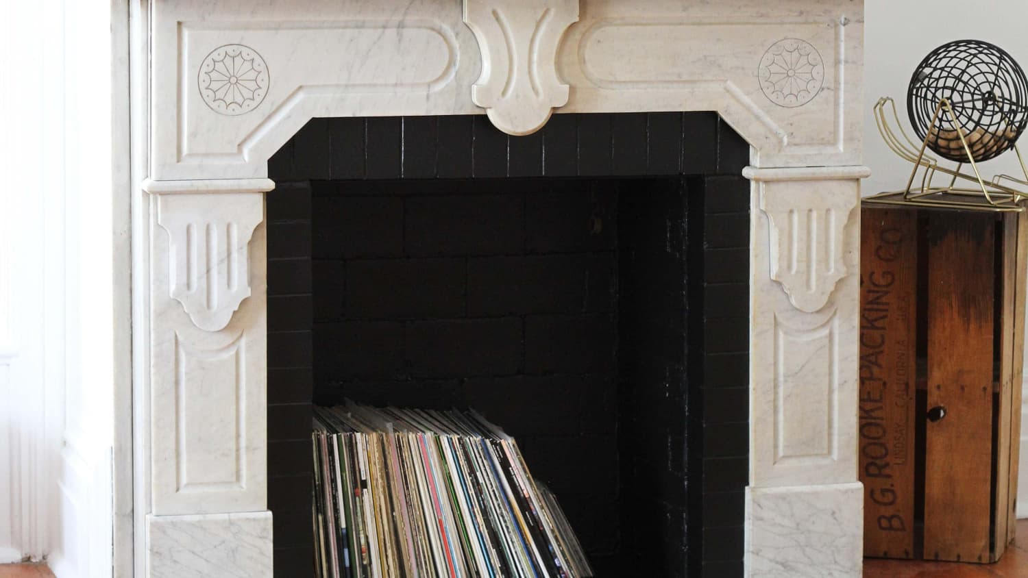 How To Clean A Brick Fireplace With Natural Cleaners Apartment